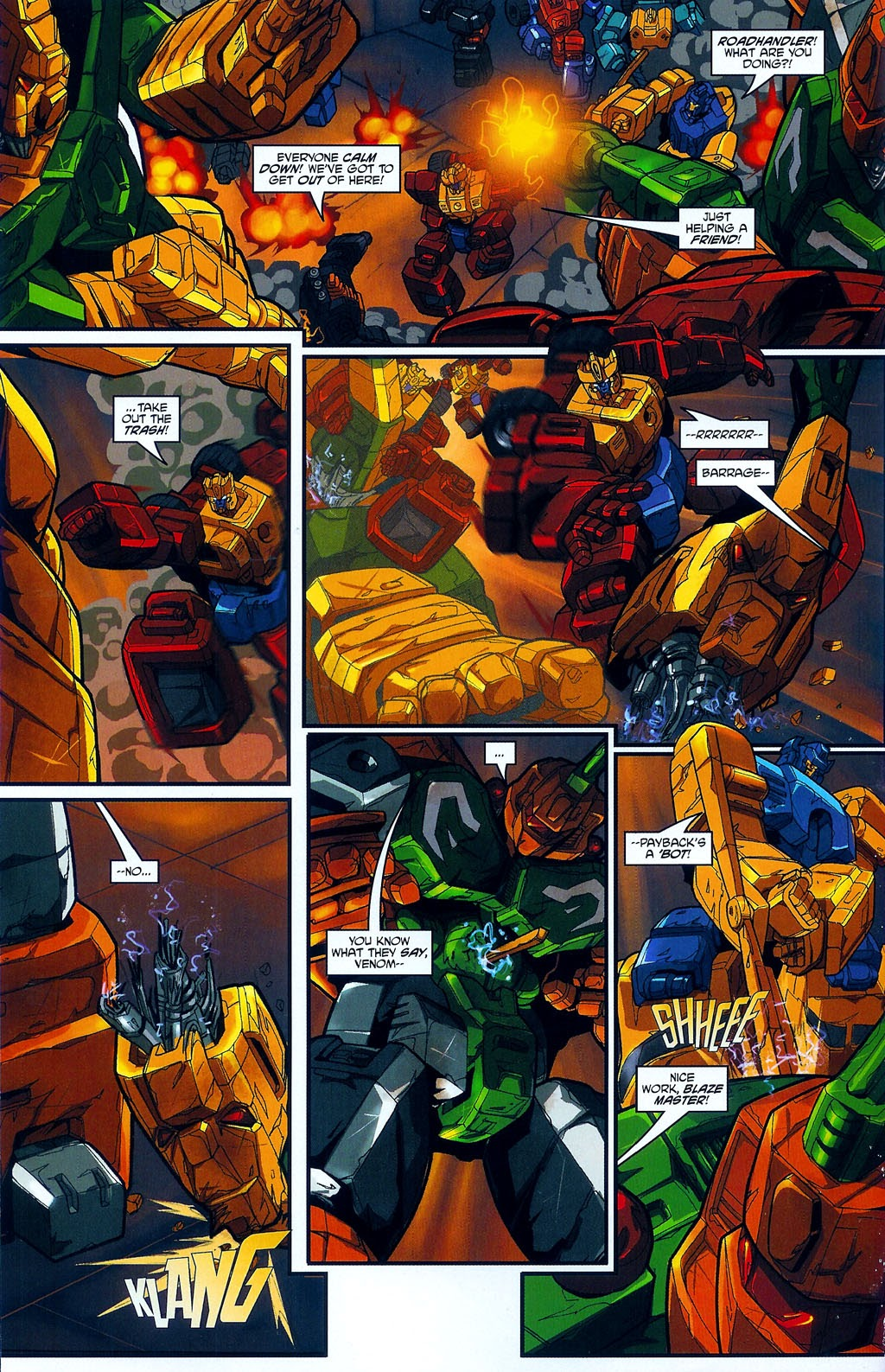 Read online Transformers: Micromasters comic -  Issue #4 - 14