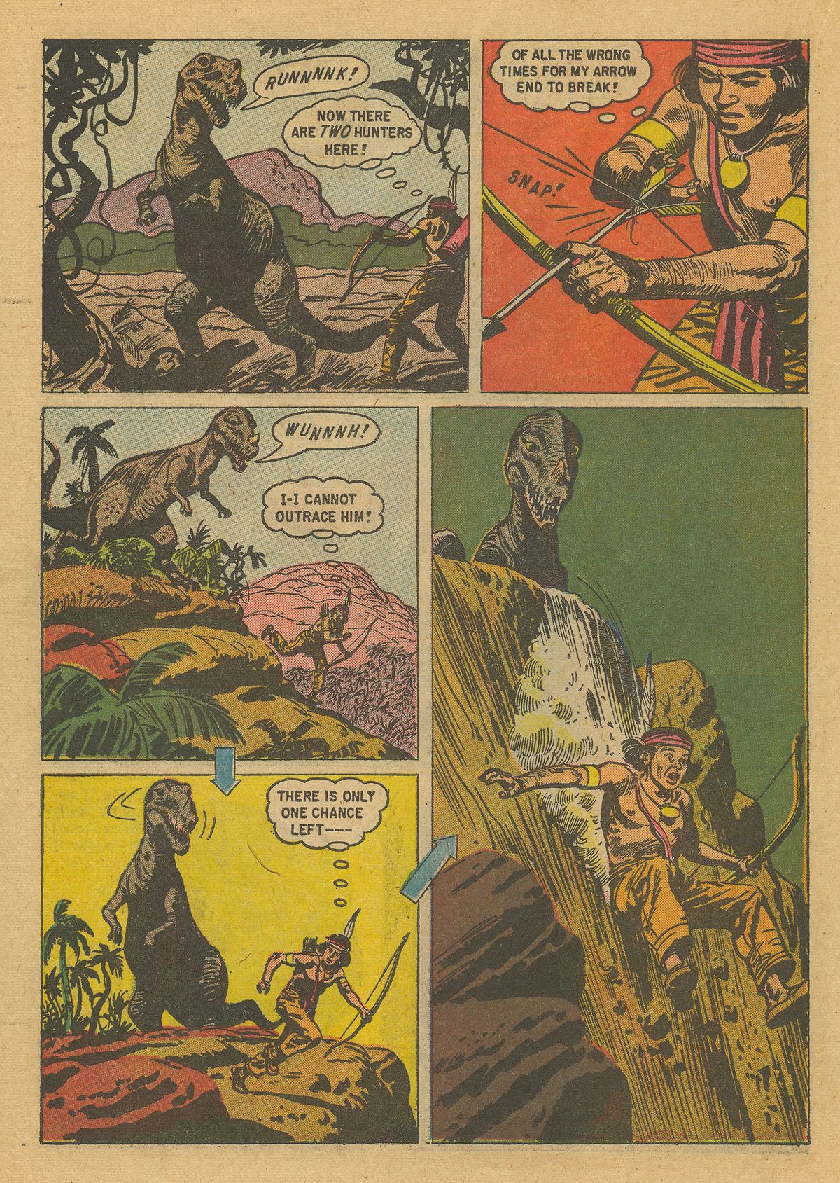 Read online Turok, Son of Stone comic -  Issue #16 - 22