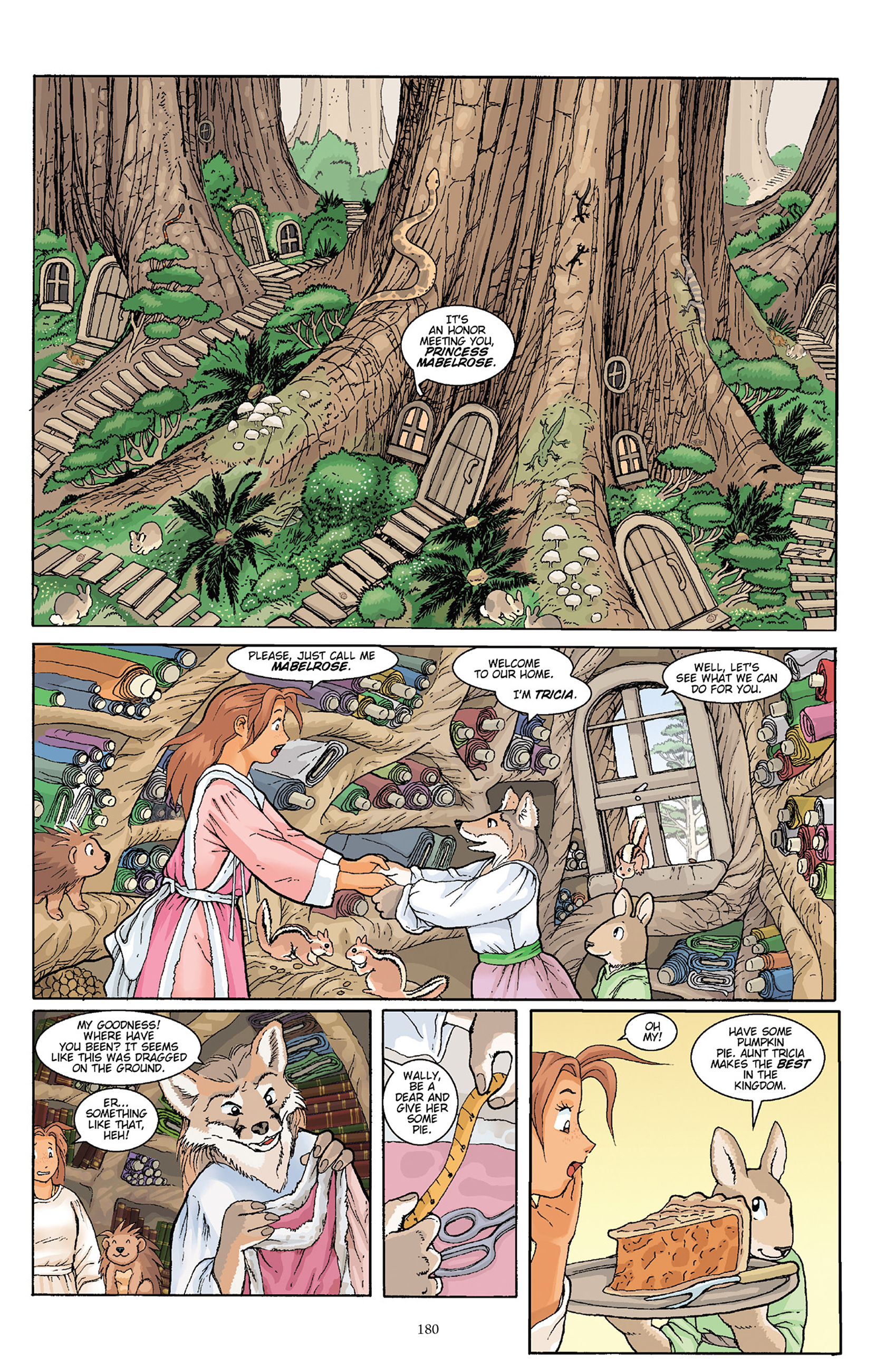 Read online Courageous Princess comic -  Issue # TPB 1 - 178