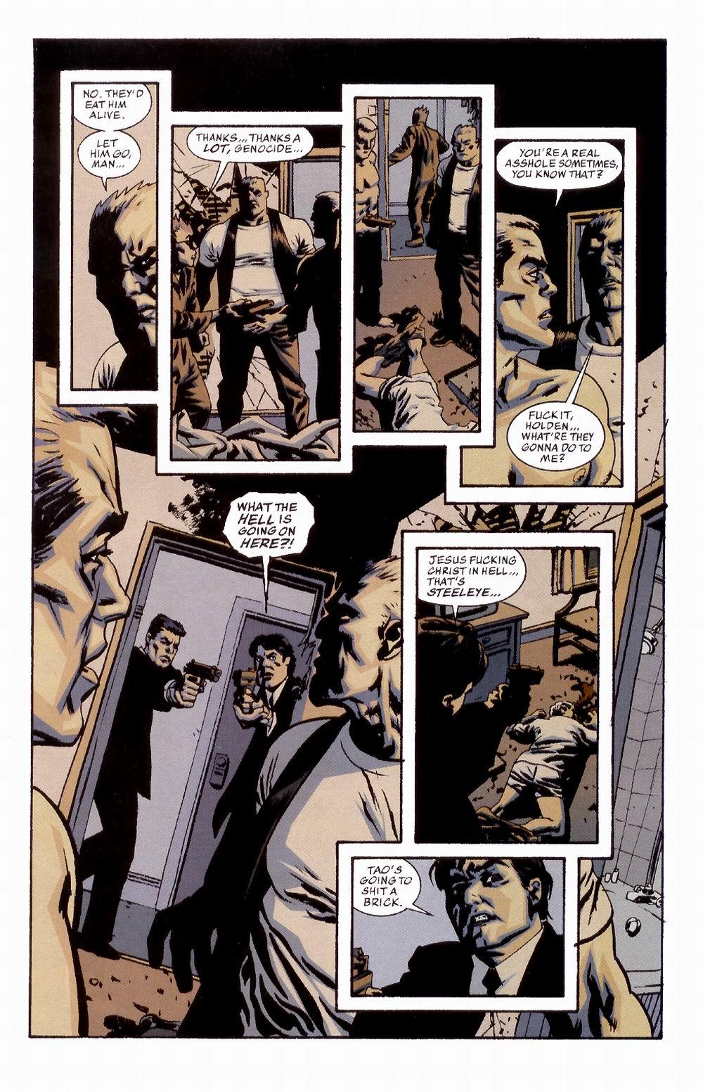 Read online Sleeper comic -  Issue #2 - 11
