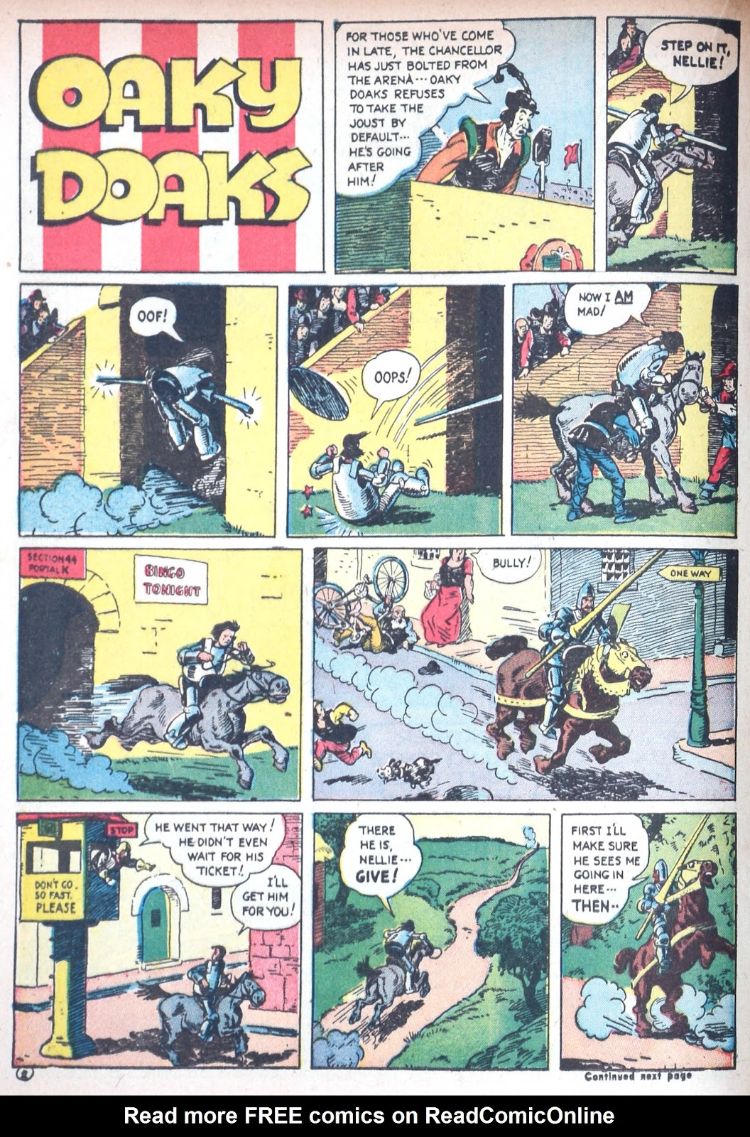 Read online Famous Funnies comic -  Issue #85 - 37