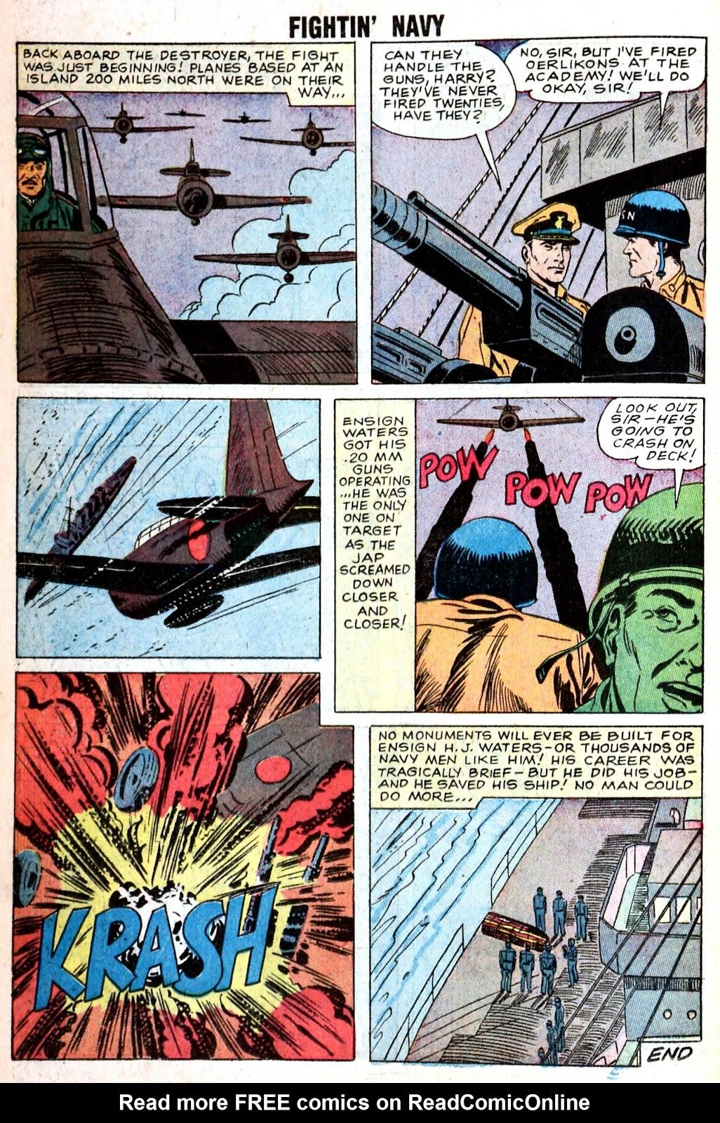 Read online Fightin' Navy comic -  Issue #85 - 18