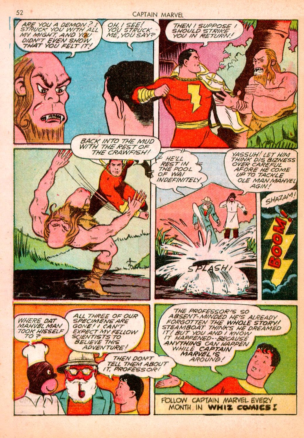 Captain Marvel Adventures issue 10 - Page 52