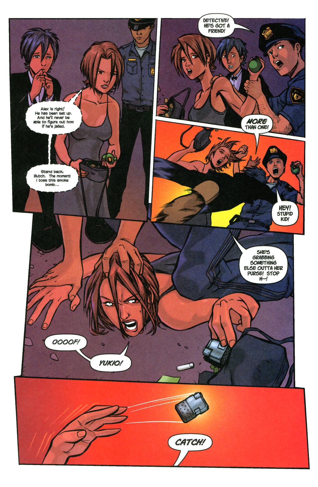 Read online SpyBoy: Final Exam comic -  Issue #3 - 4