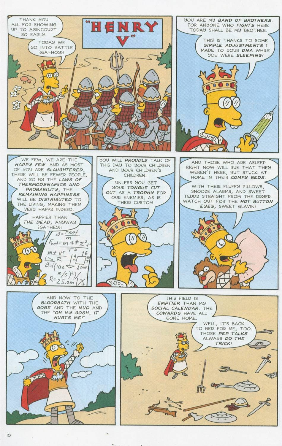 Read online Simpsons Comics comic -  Issue #76 - 11