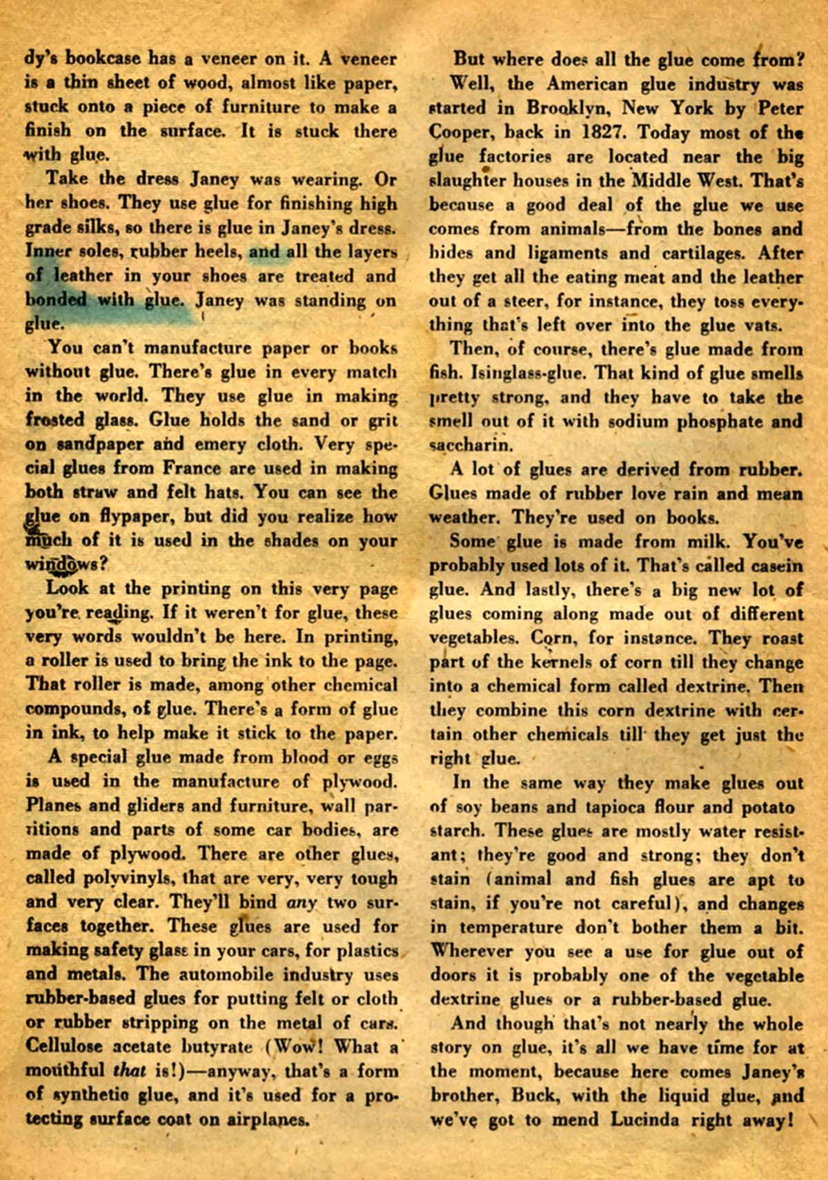 Read online Adventure Comics (1938) comic -  Issue #141 - 38
