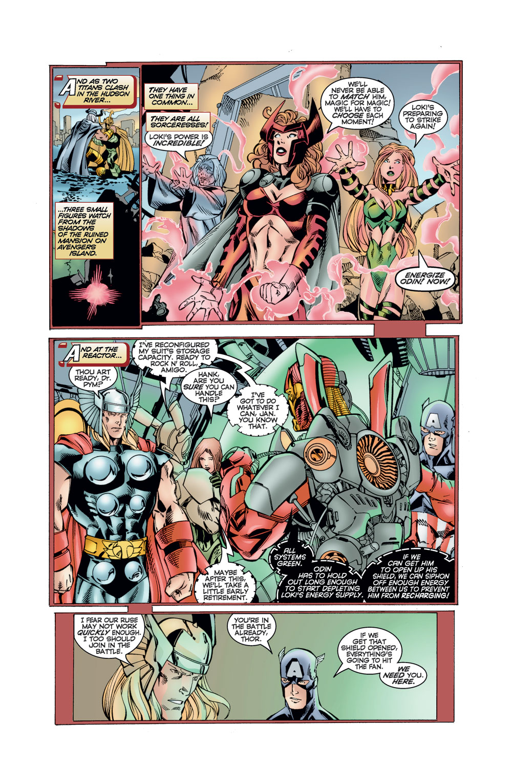 Read online Avengers (1996) comic -  Issue #11 - 14