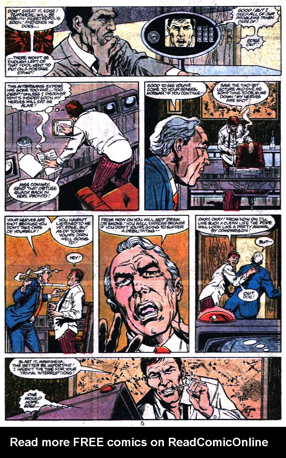 Read online Adventures of Superman (1987) comic -  Issue #456 - 5