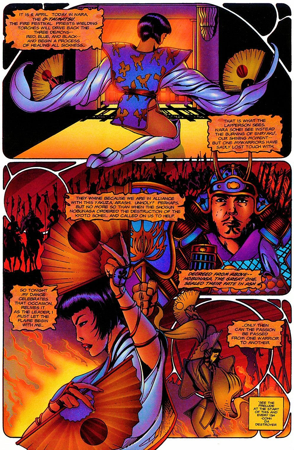 Read online Shi: The Way of the Warrior comic -  Issue #6 - 18
