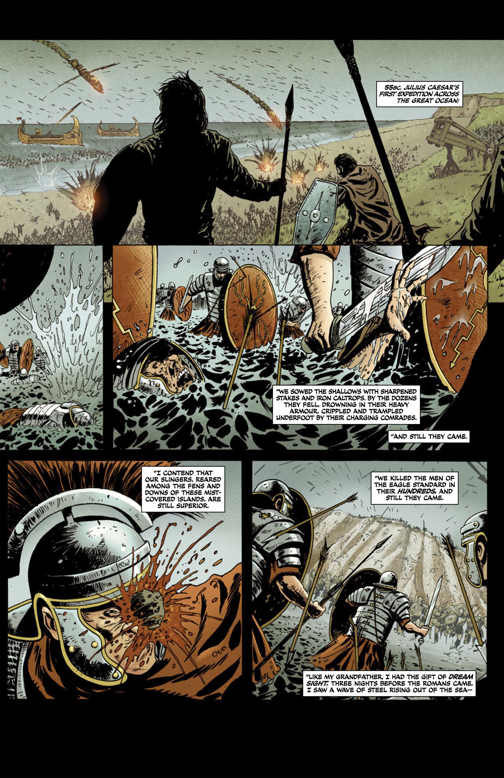 Read online Aquila comic -  Issue #1 - 7