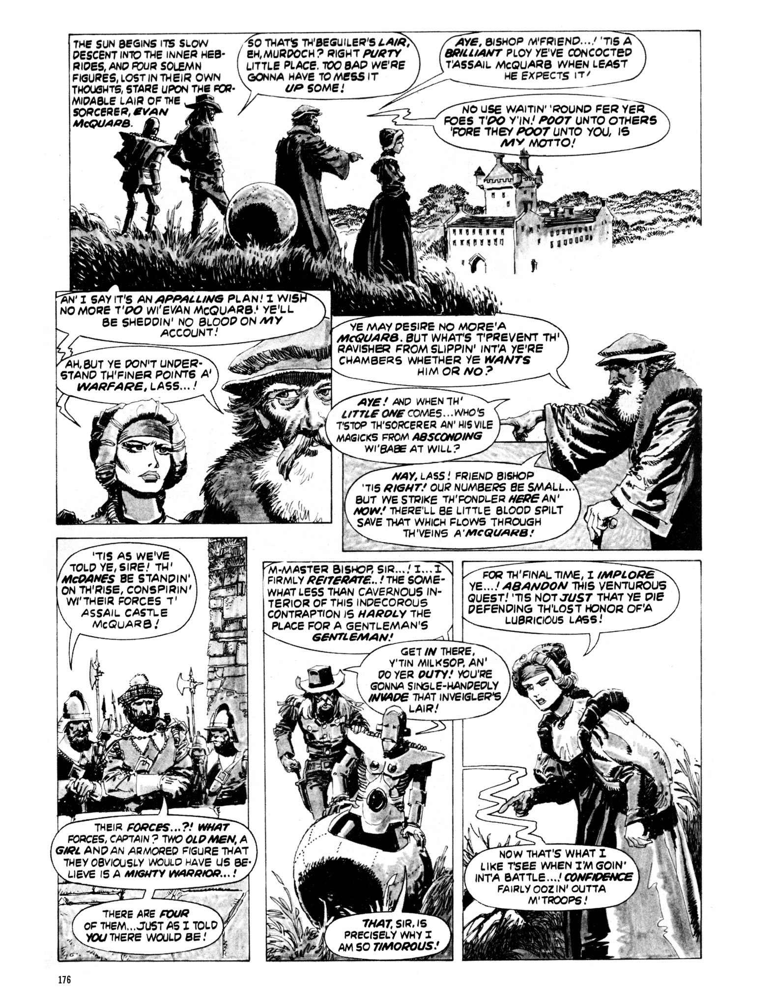 Read online Eerie Archives comic -  Issue # TPB 20 - 176