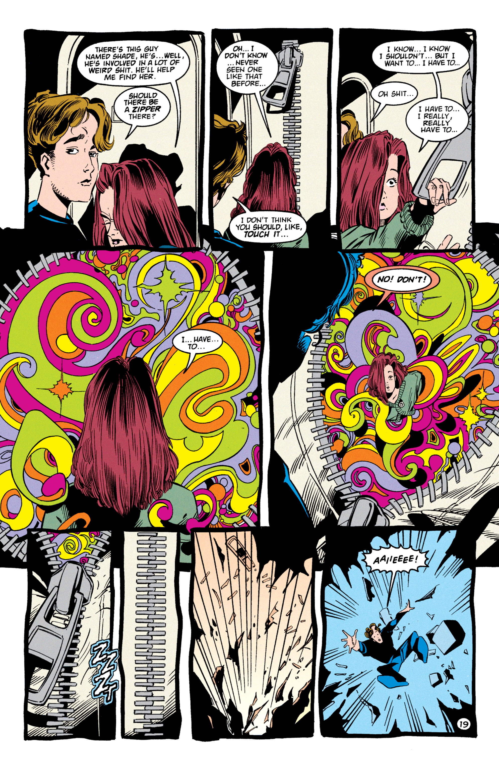Read online Shade, the Changing Man comic -  Issue #59 - 20