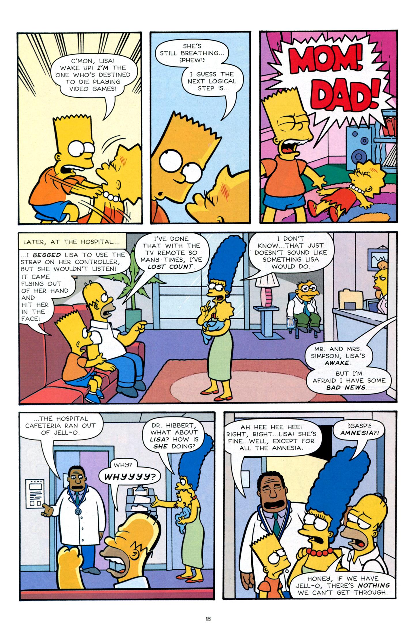 Read online Simpsons Comics Presents Bart Simpson comic -  Issue #66 - 20