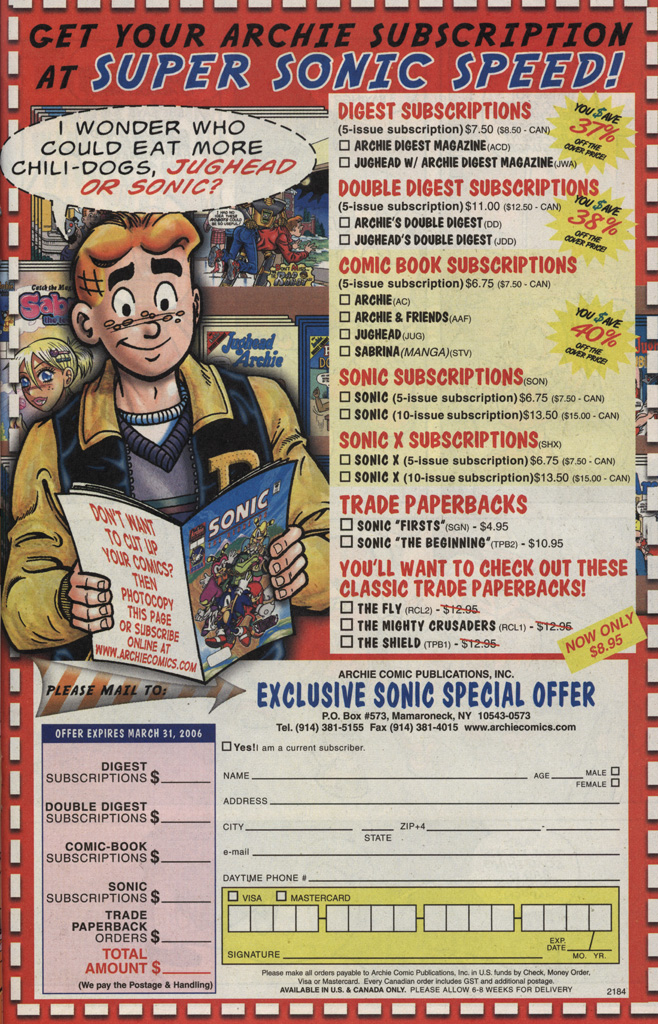 Read online Sonic X comic -  Issue #5 - 23
