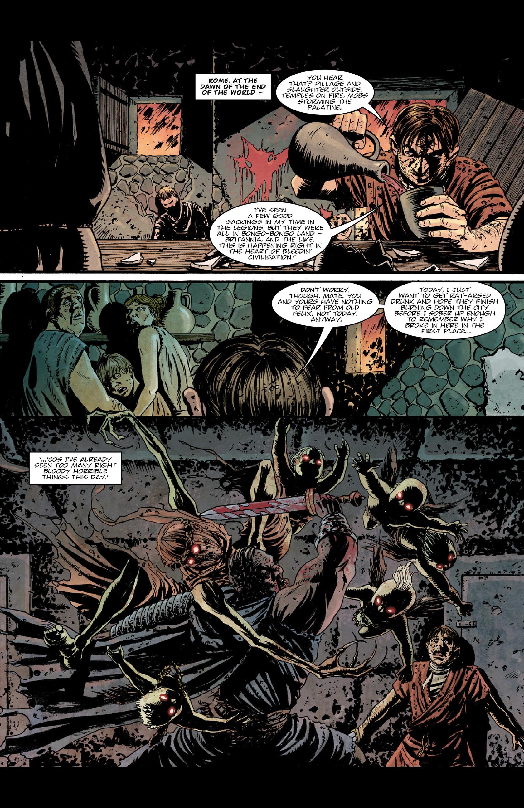 Read online Aquila comic -  Issue #5 - 18