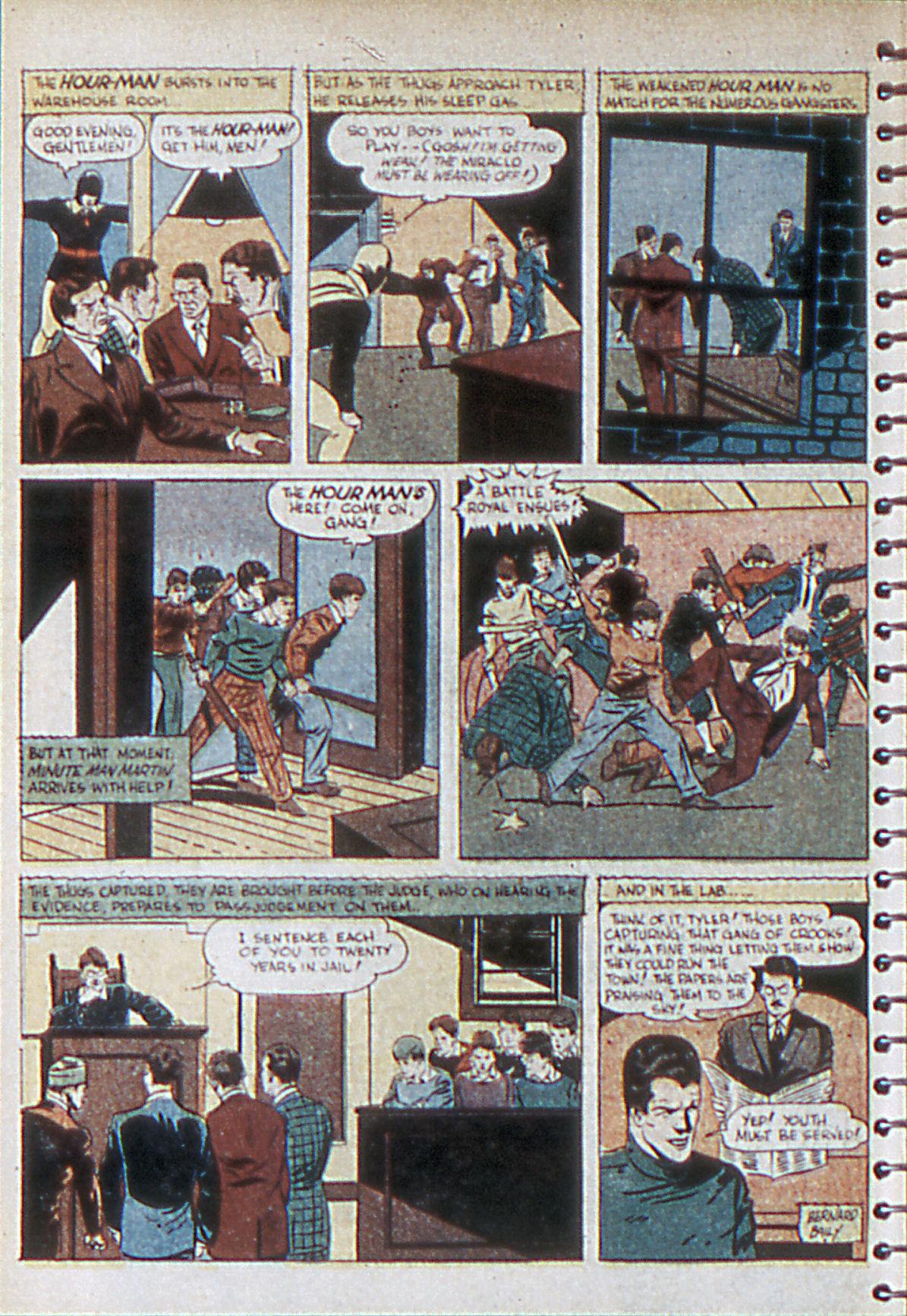 Read online Adventure Comics (1938) comic -  Issue #55 - 11