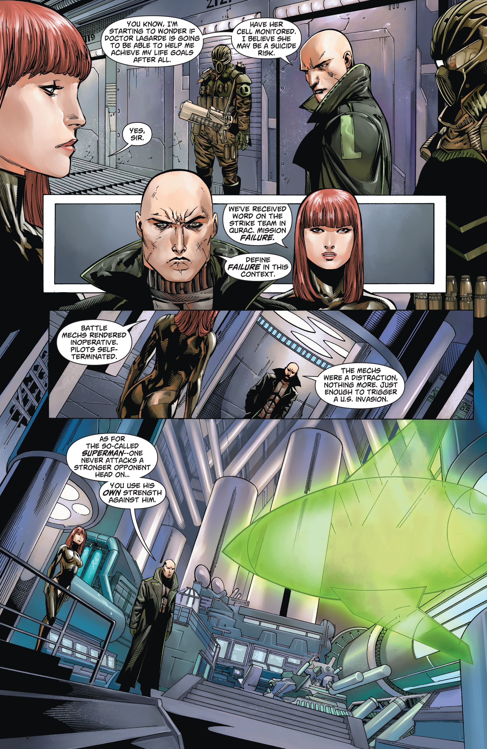 Read online Action Comics (2011) comic -  Issue #19 - 22
