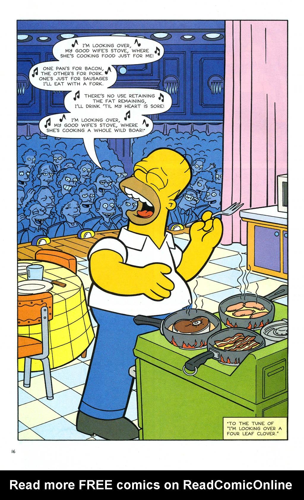 Read online Simpsons Comics comic -  Issue #106 - 17