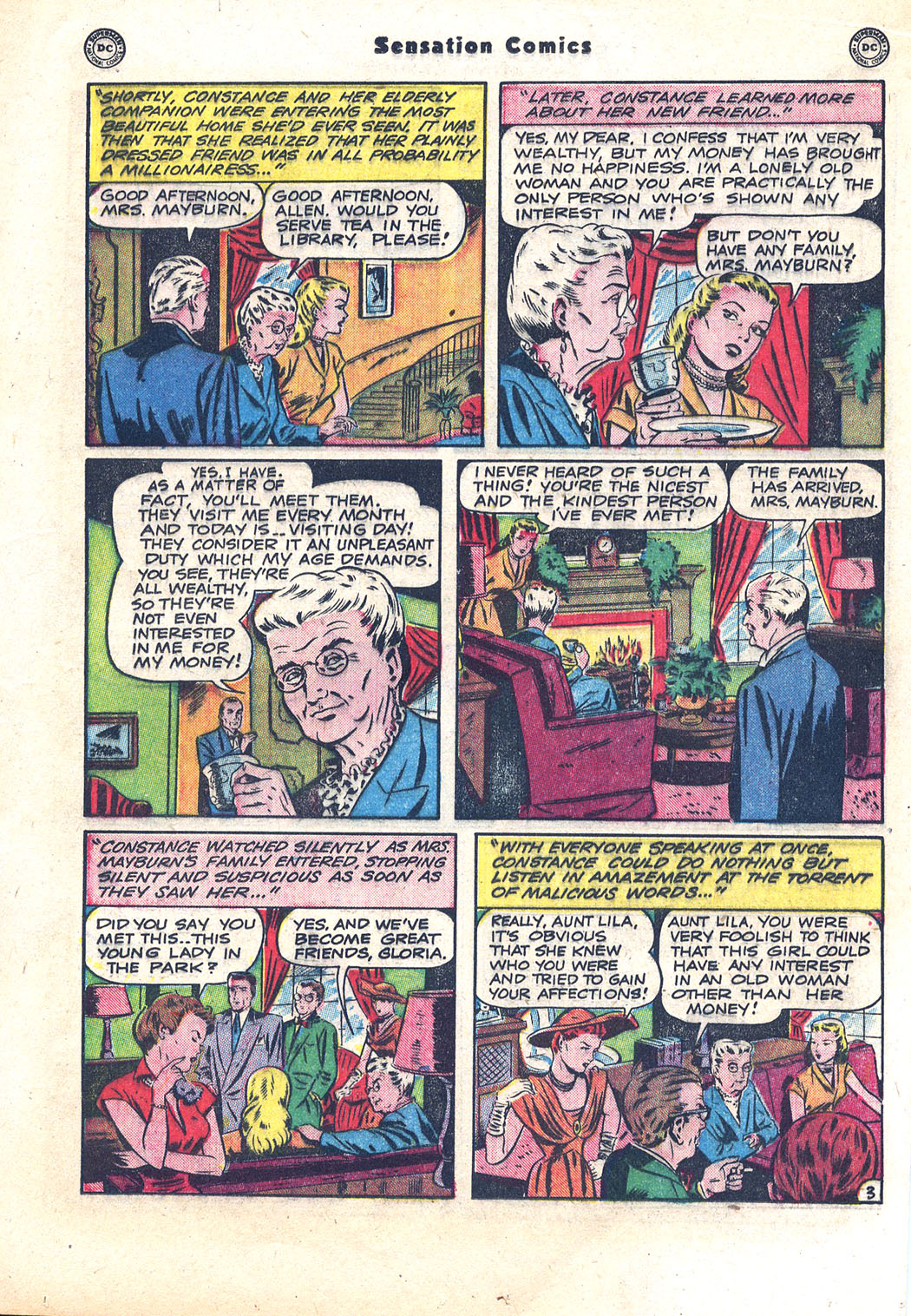 Read online Sensation (Mystery) Comics comic -  Issue #94 - 25