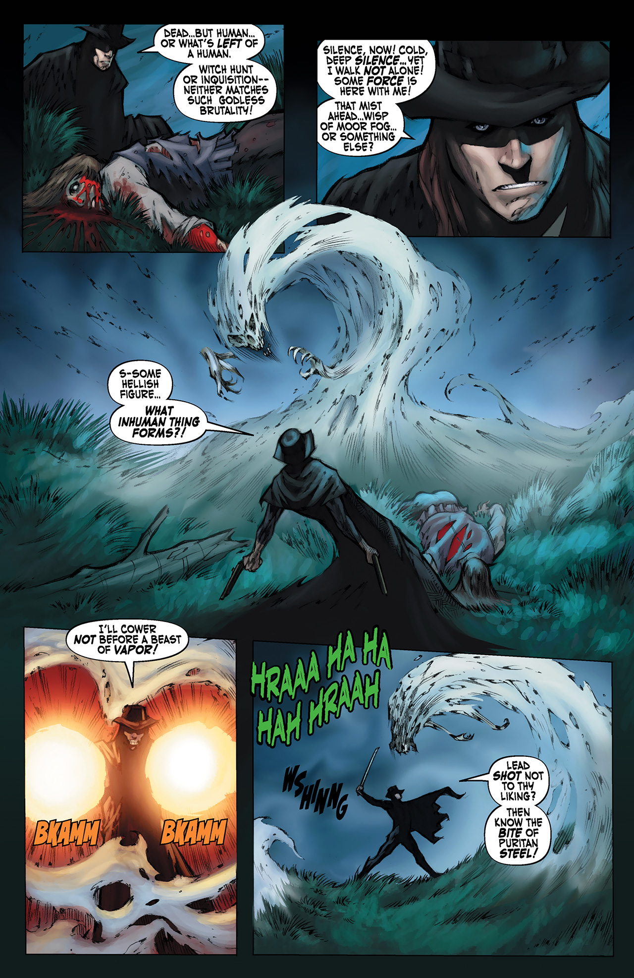 Read online Solomon Kane: Red Shadows comic -  Issue #1 - 10
