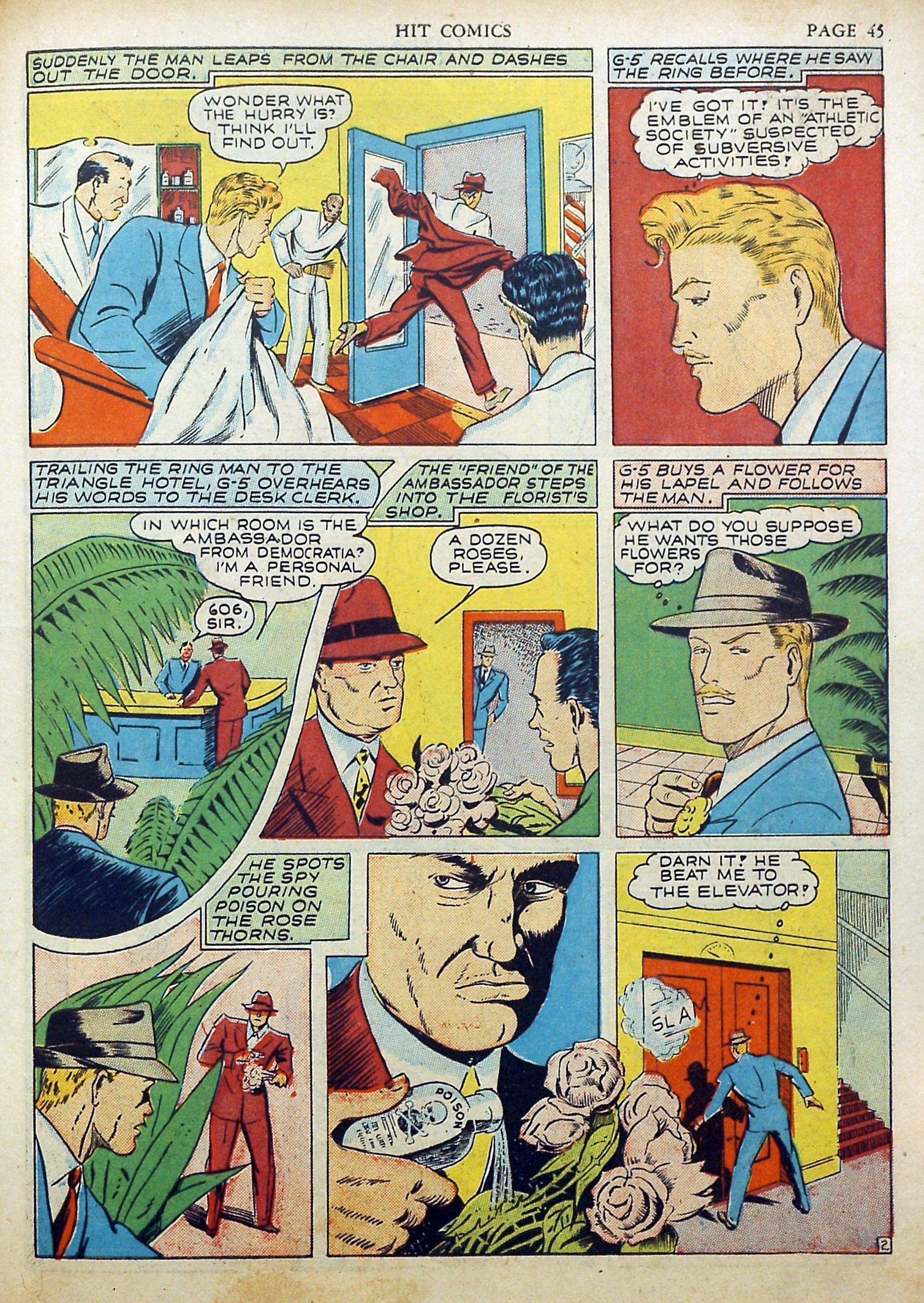 Read online Hit Comics comic -  Issue #17 - 47