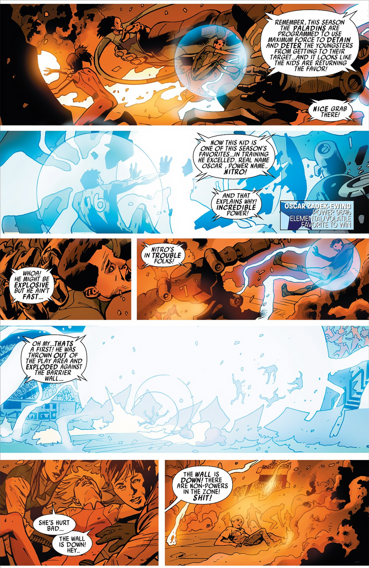 Read online America's Got Powers comic -  Issue #2 - 27