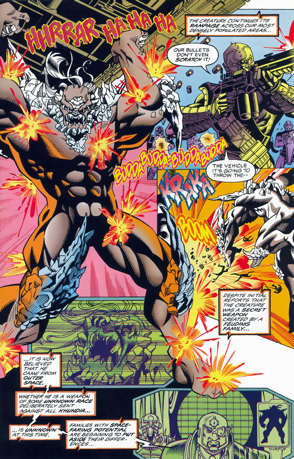 Read online Doomsday Annual comic -  Issue # Full - 25