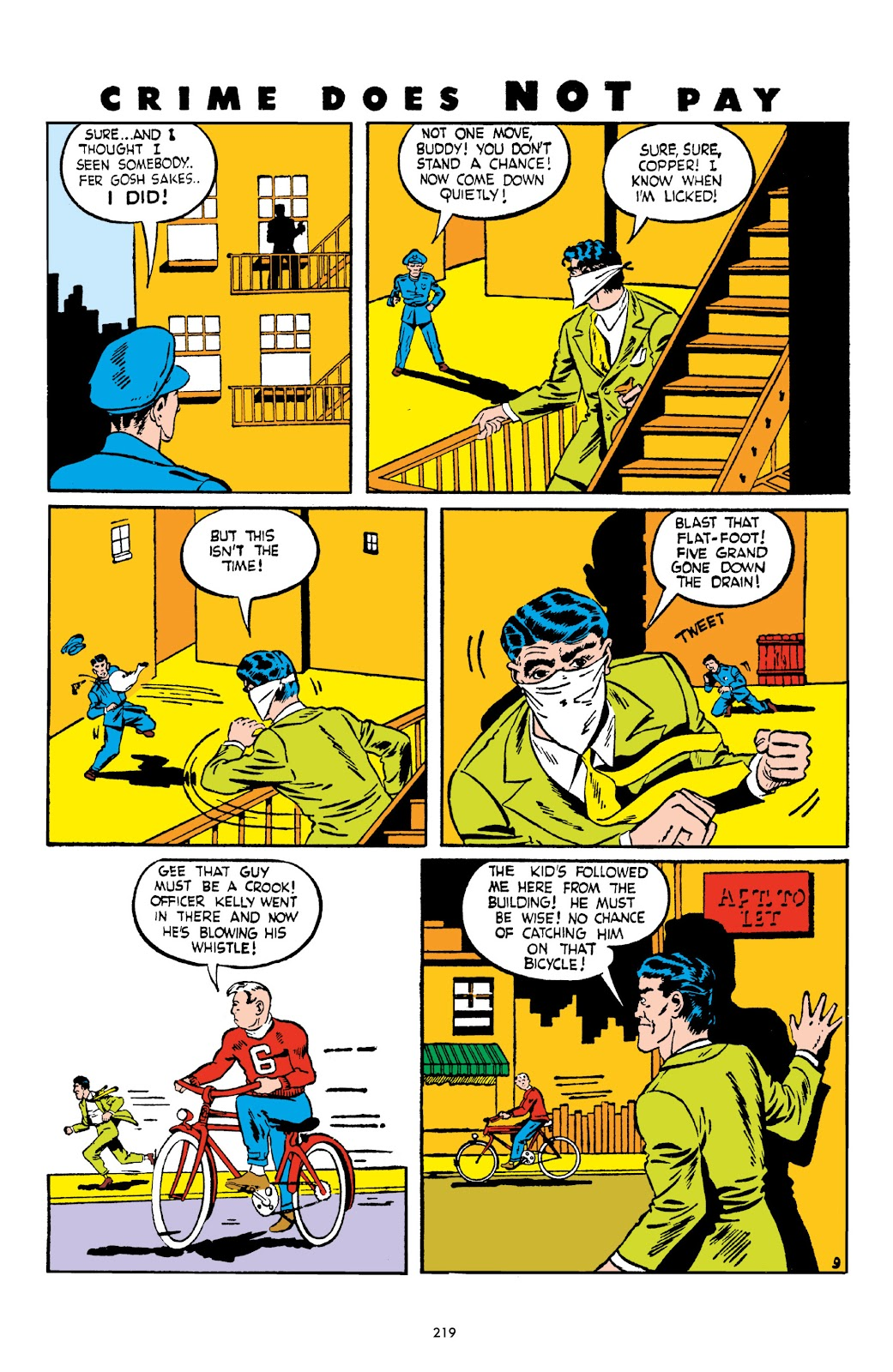 Read online Crime Does Not Pay Archives comic -  Issue # TPB 2 (Part 3) - 19