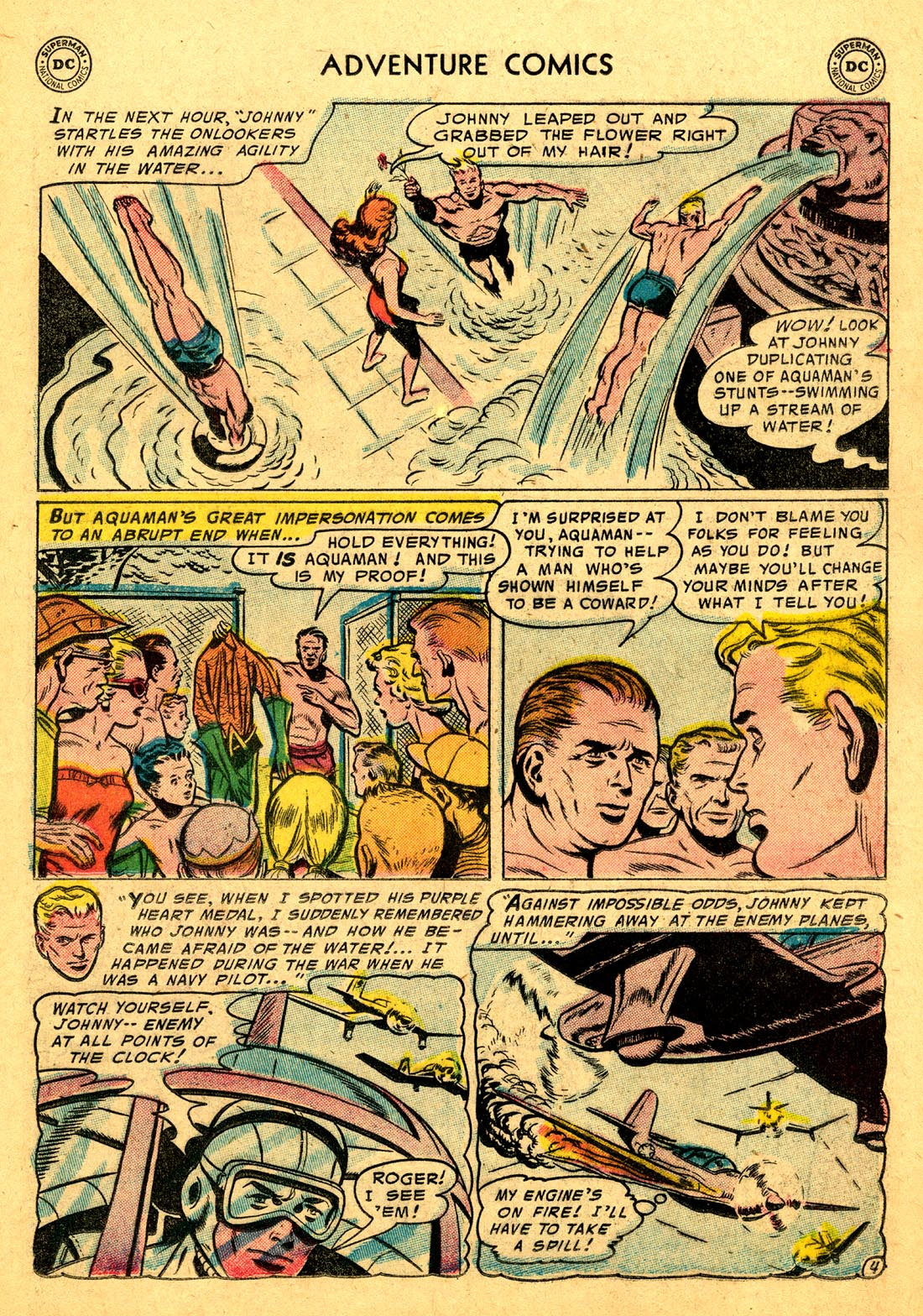 Read online Adventure Comics (1938) comic -  Issue #220 - 21