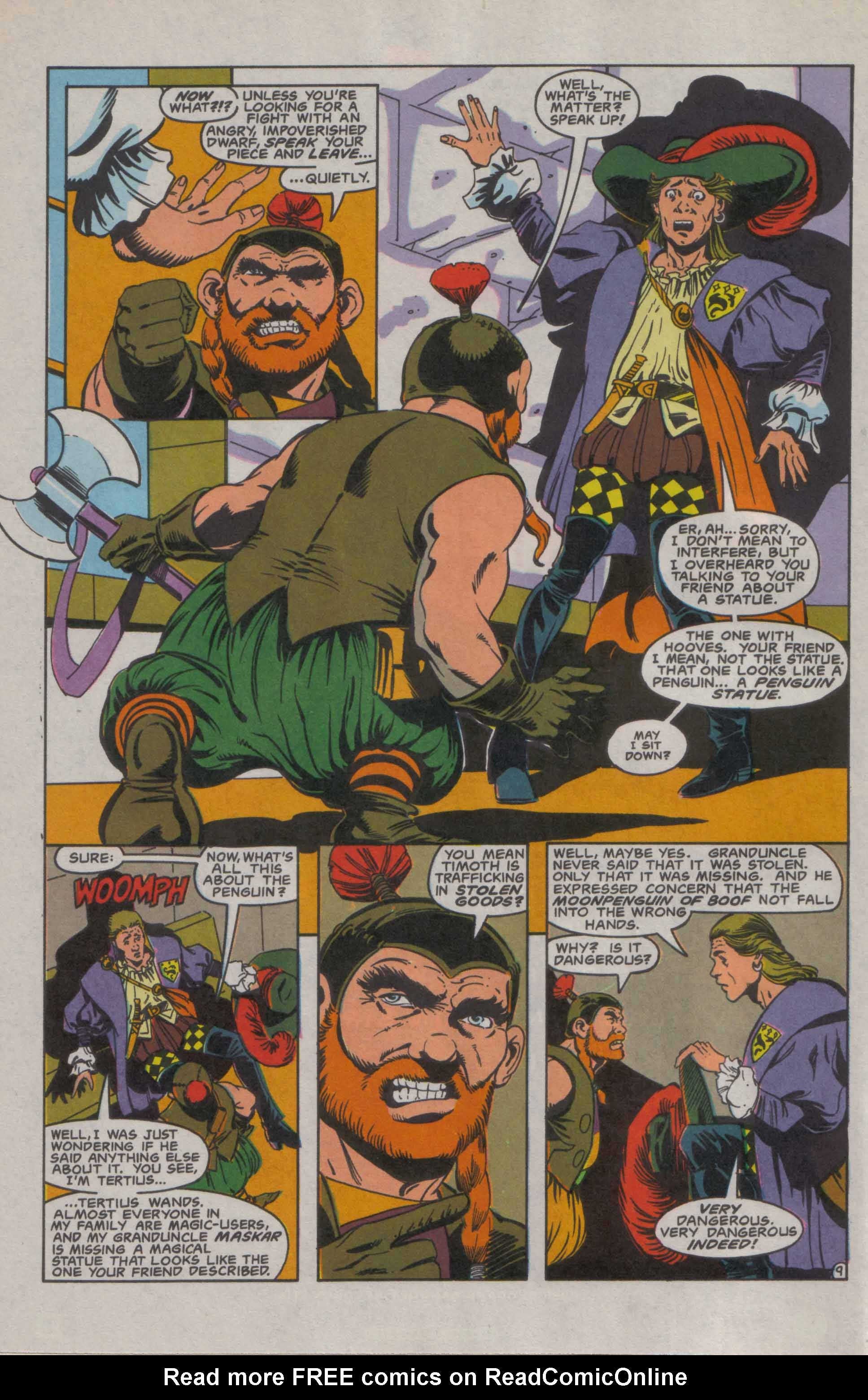 Read online Advanced Dungeons & Dragons comic -  Issue #9 - 10