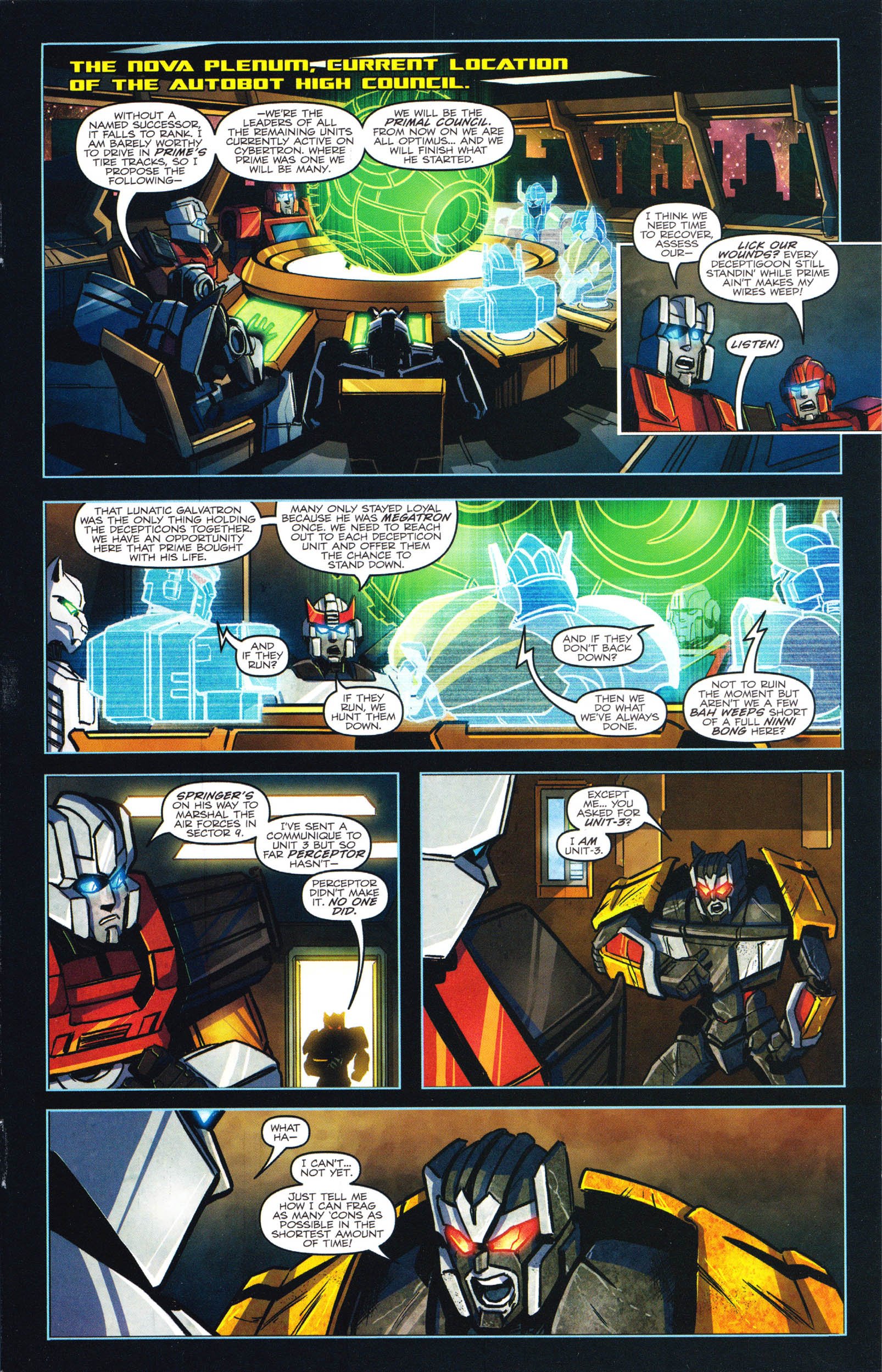 Read online Transformers: Dawn of the Predacus comic -  Issue # Full - 6
