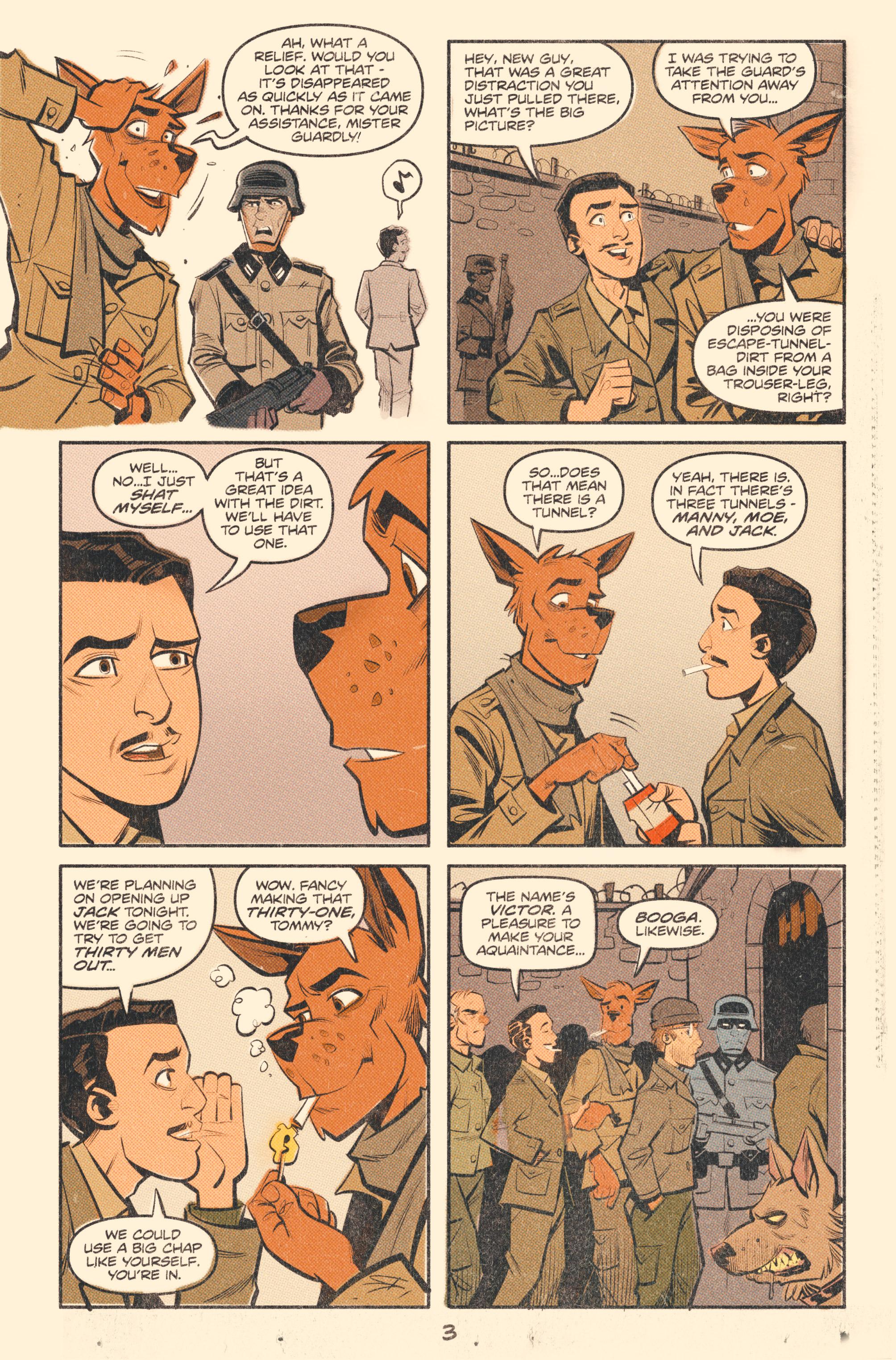 Read online Tank Girl: World War Tank Girl comic -  Issue #2 - 5