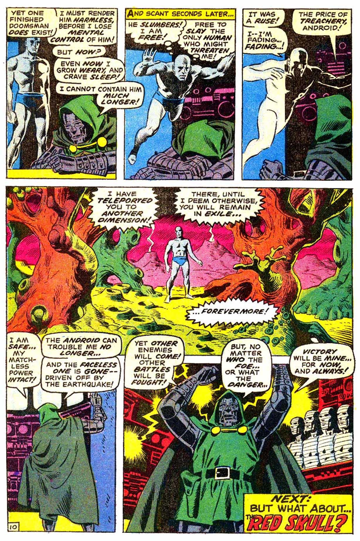 Read online Astonishing Tales (1970) comic -  Issue #3 - 11