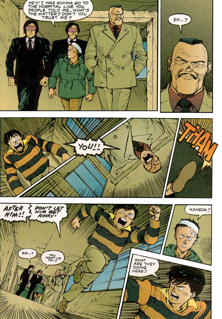 Read online Akira comic -  Issue #3 - 18