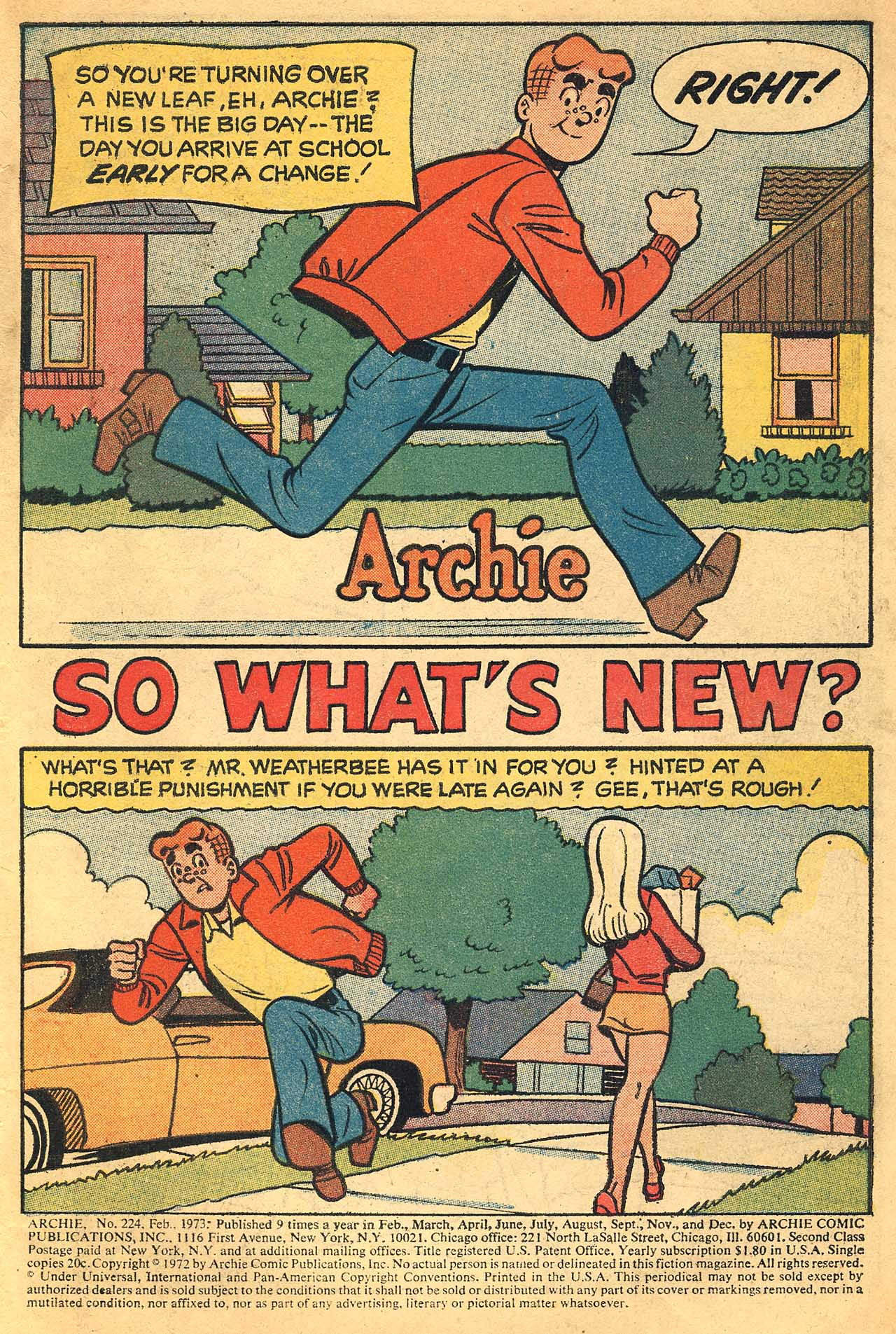 Read online Archie (1960) comic -  Issue #224 - 3
