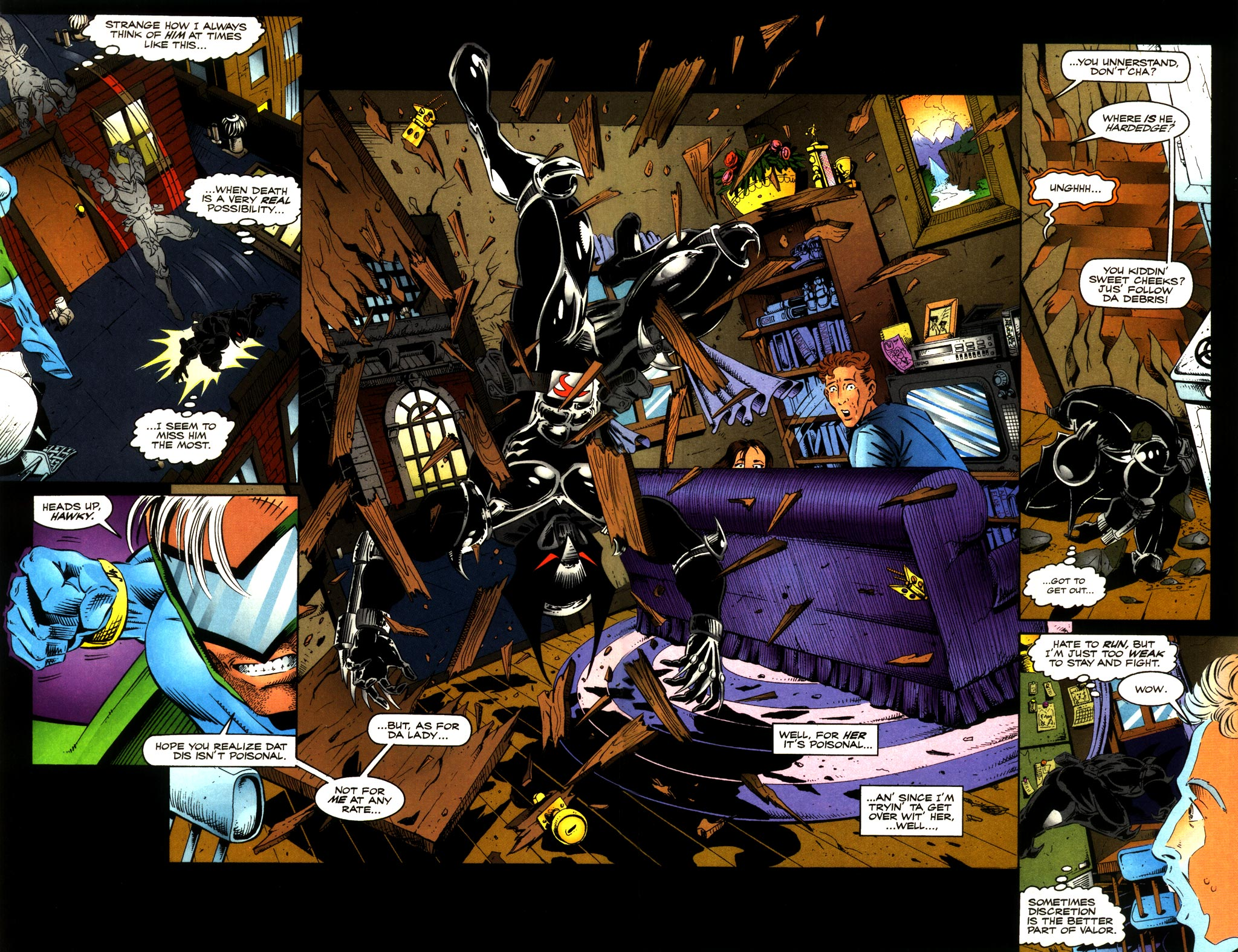 Read online ShadowHawk comic -  Issue #8 - 16