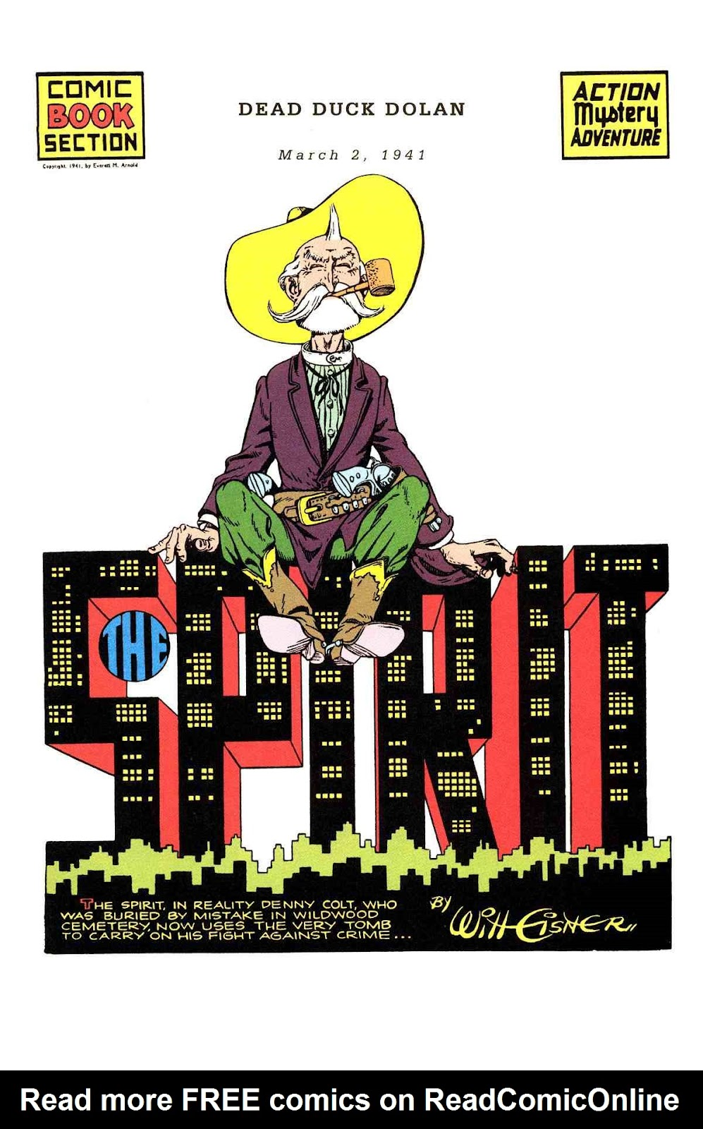 Read online Will Eisner's The Spirit Archives comic -  Issue # TPB 2 (Part 1) - 65