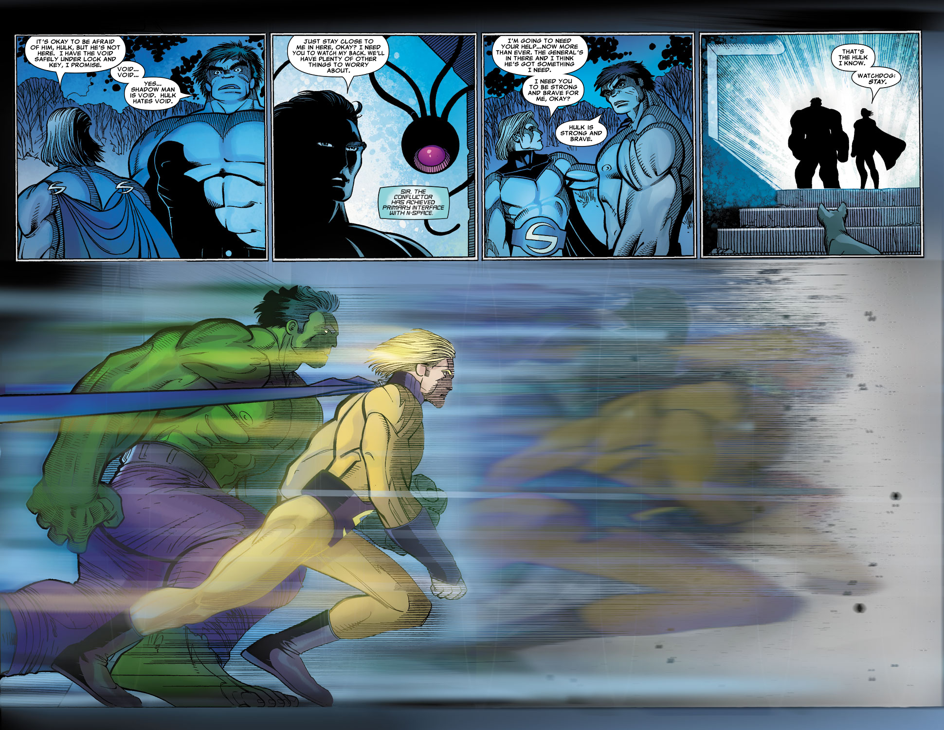 Read online Sentry (2006) comic -  Issue #3 - 9