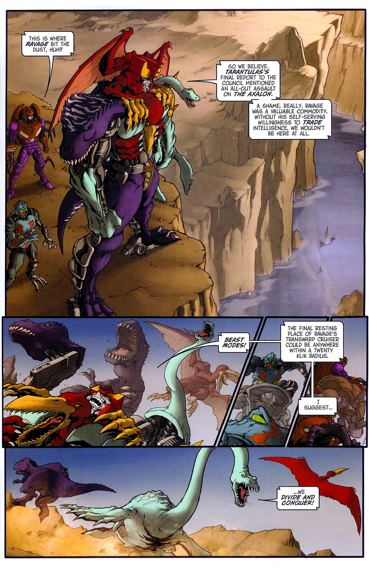Read online Transformers, Beast Wars: The Gathering comic -  Issue #2 - 10