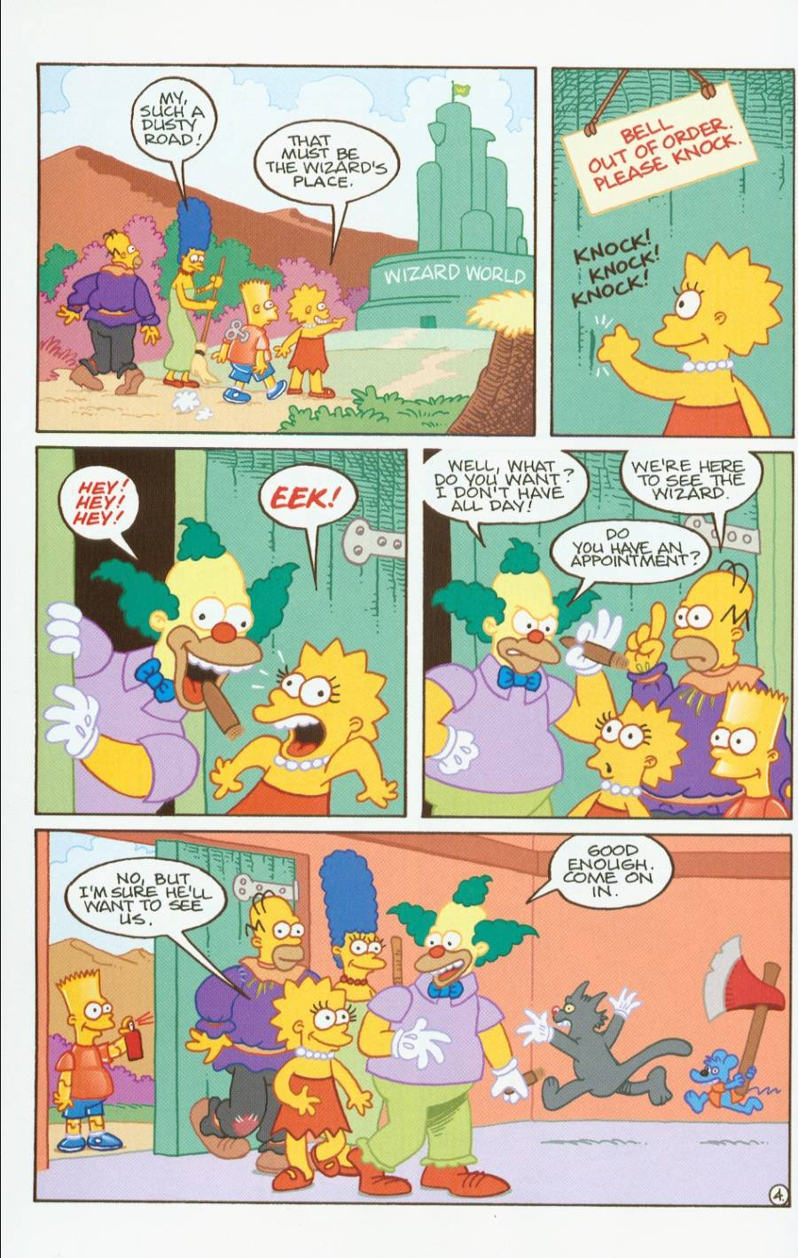 Read online Treehouse of Horror comic -  Issue #7 - 17