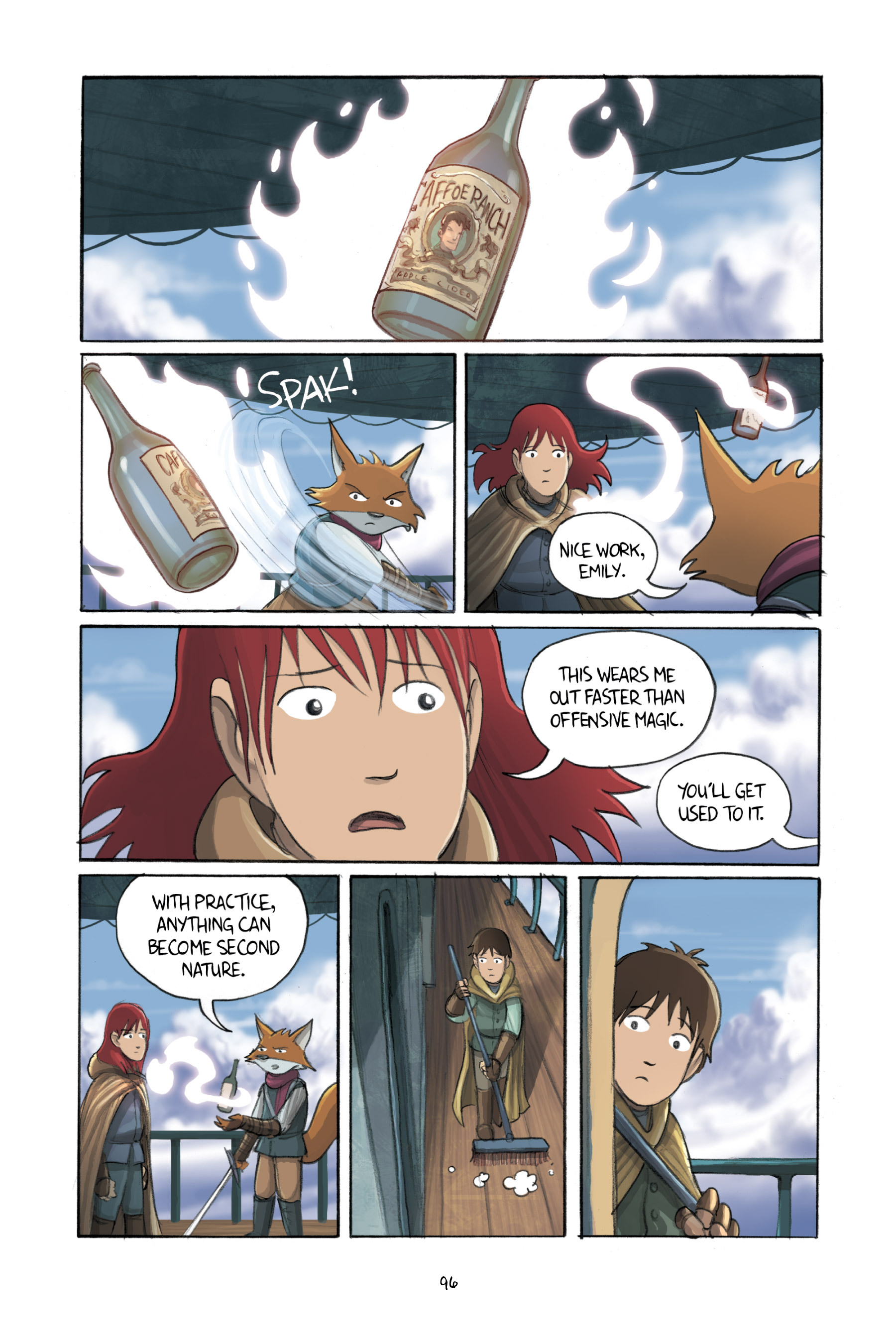 Read online Amulet comic -  Issue #3 - 94