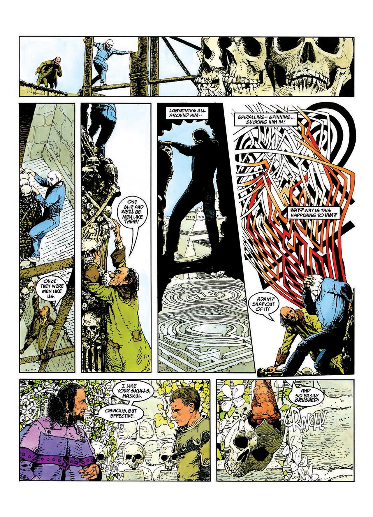 Read online Mazeworld comic -  Issue # TPB - 36