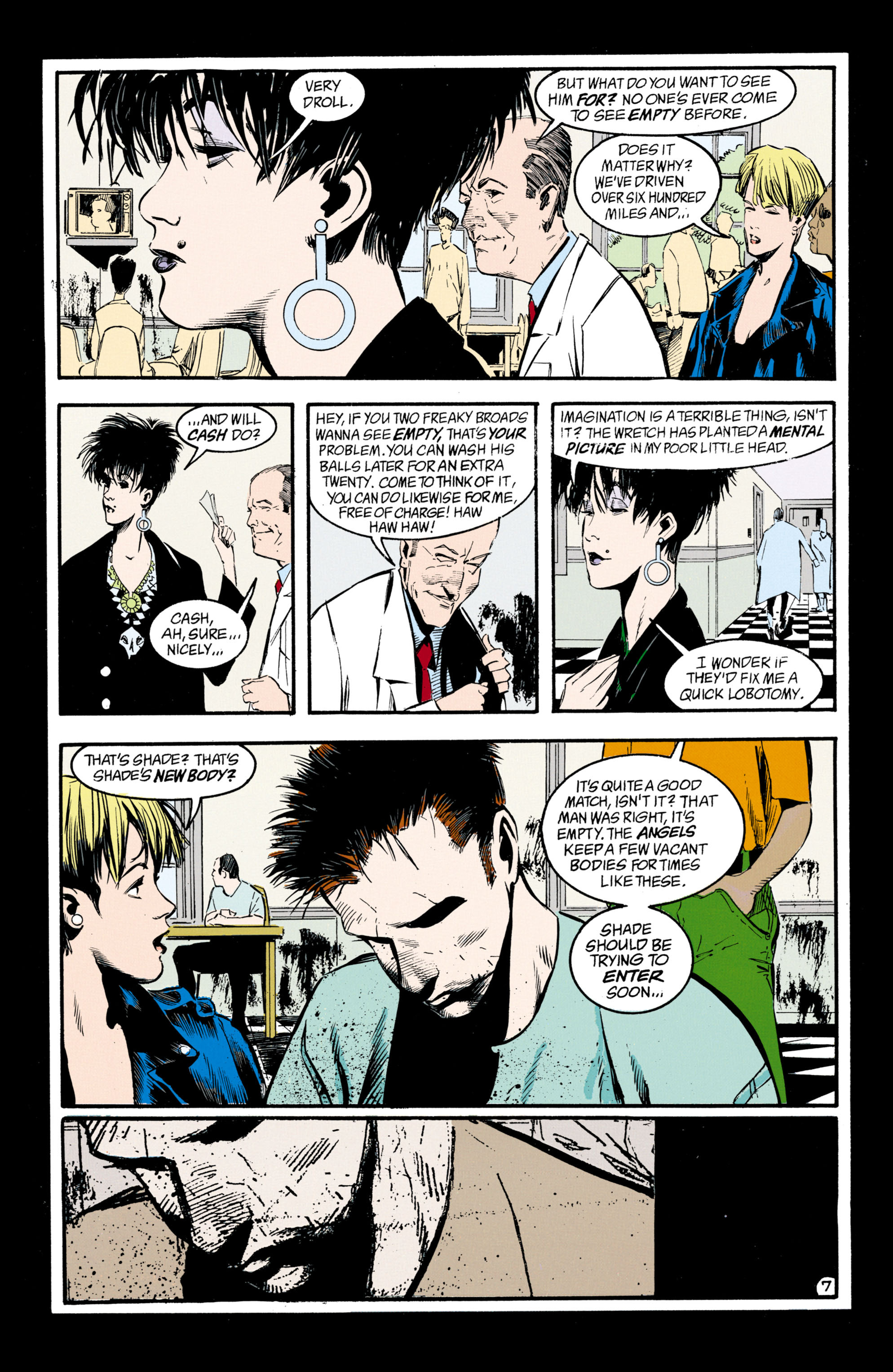 Read online Shade, the Changing Man comic -  Issue #33 - 8
