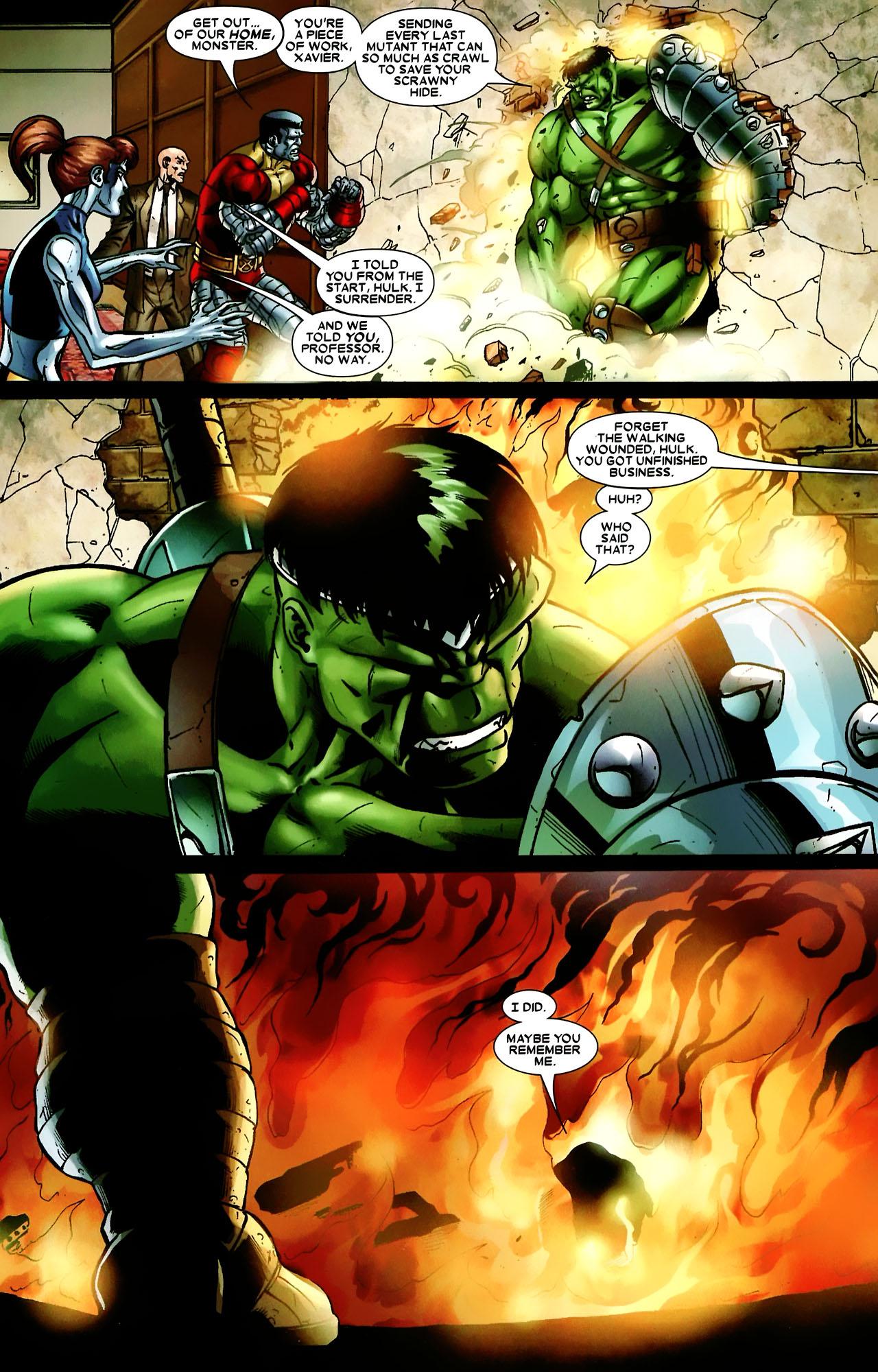 Read online World War Hulk: X-Men comic -  Issue #3 - 14