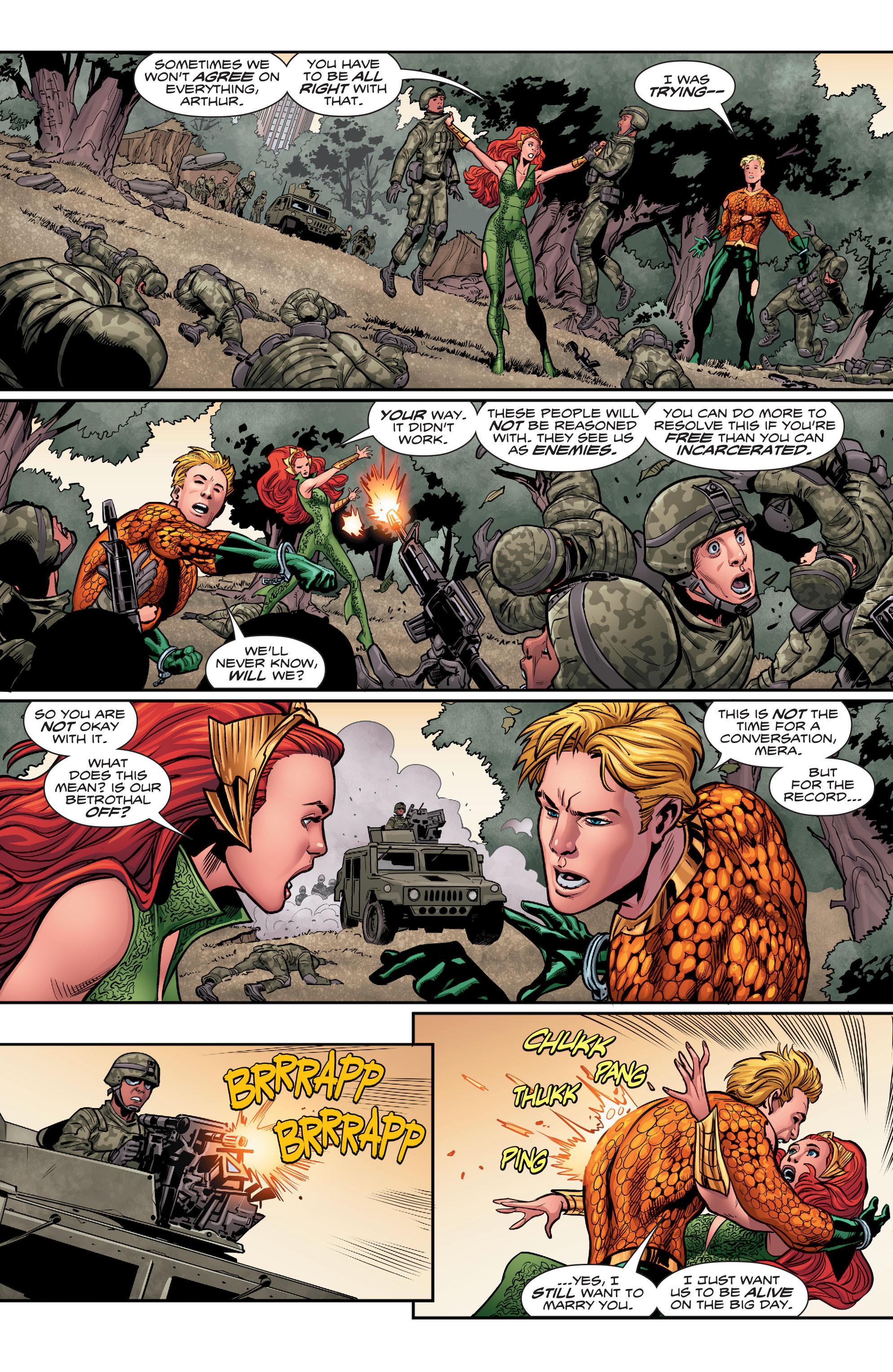Read online Aquaman (2016) comic -  Issue #5 - 16
