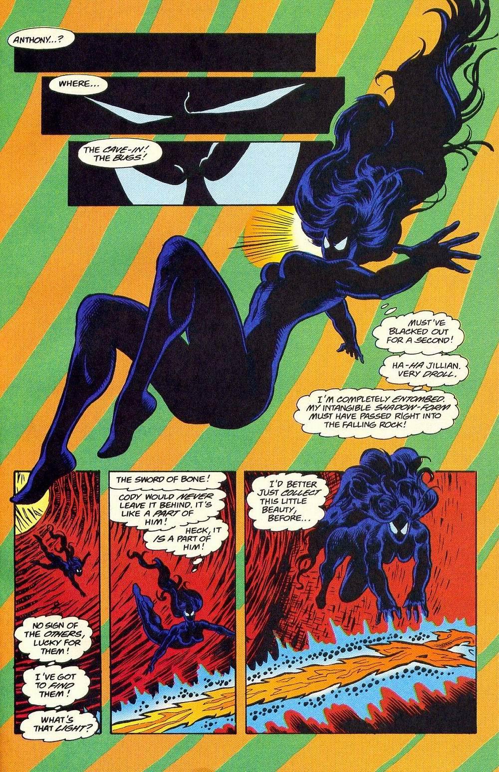 Read online Secret Defenders comic -  Issue #18 - 21