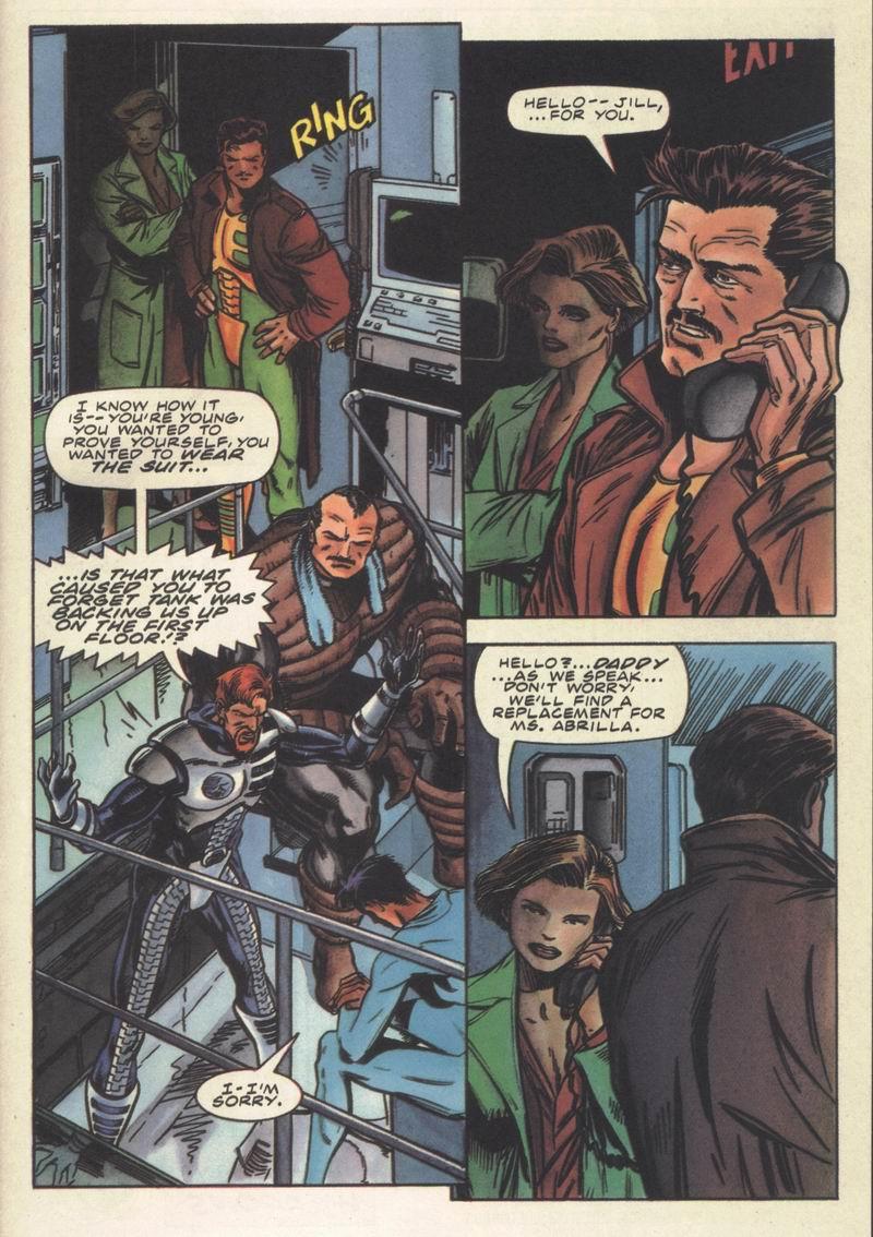 Read online Secret Weapons comic -  Issue #14 - 21