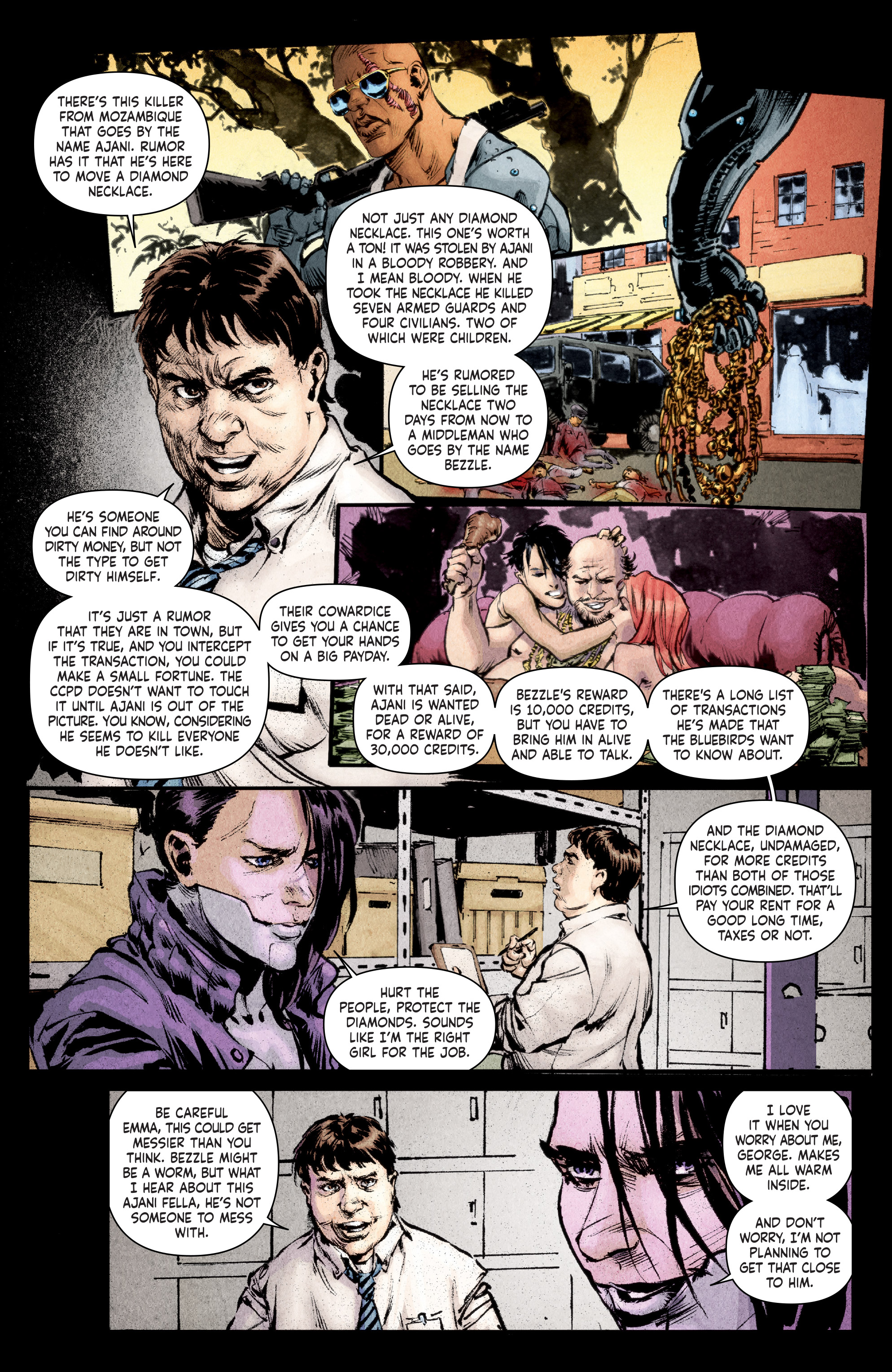 Read online Stained comic -  Issue #1 - 7