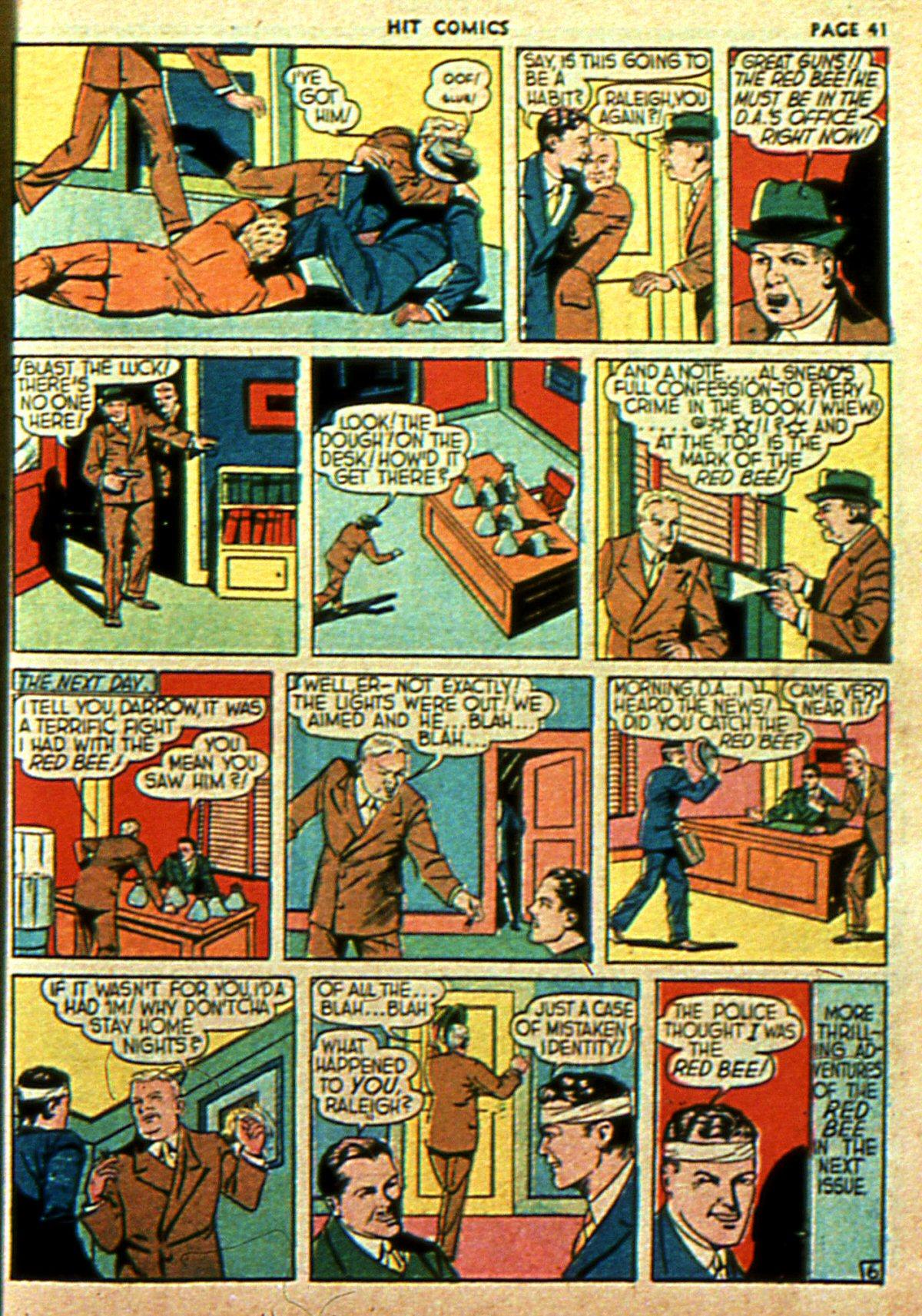 Read online Hit Comics comic -  Issue #2 - 43