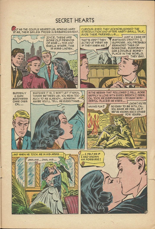 Read online Secret Hearts comic -  Issue #14 - 7